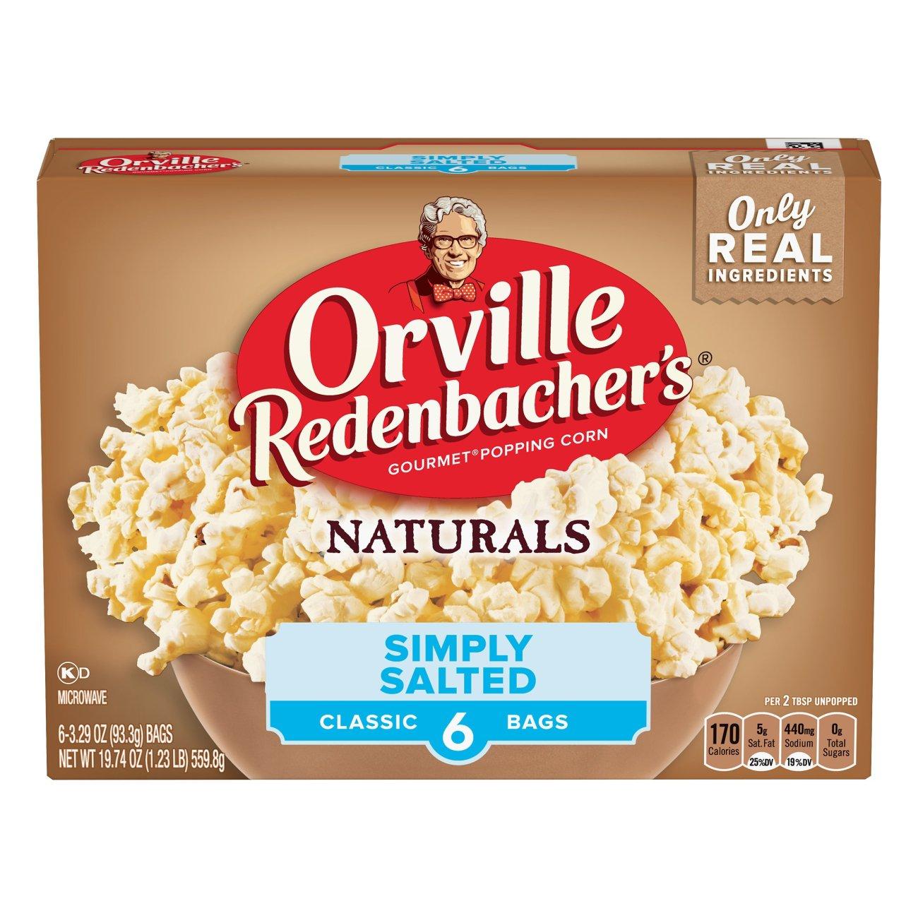 Orville Redenbacher's Naturals Simply