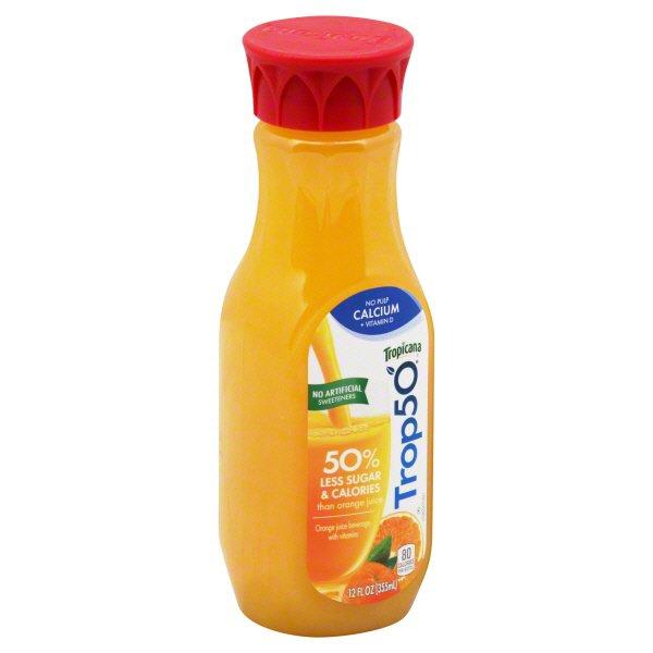 Tropicana Trop50 No Pulp Calcium +
