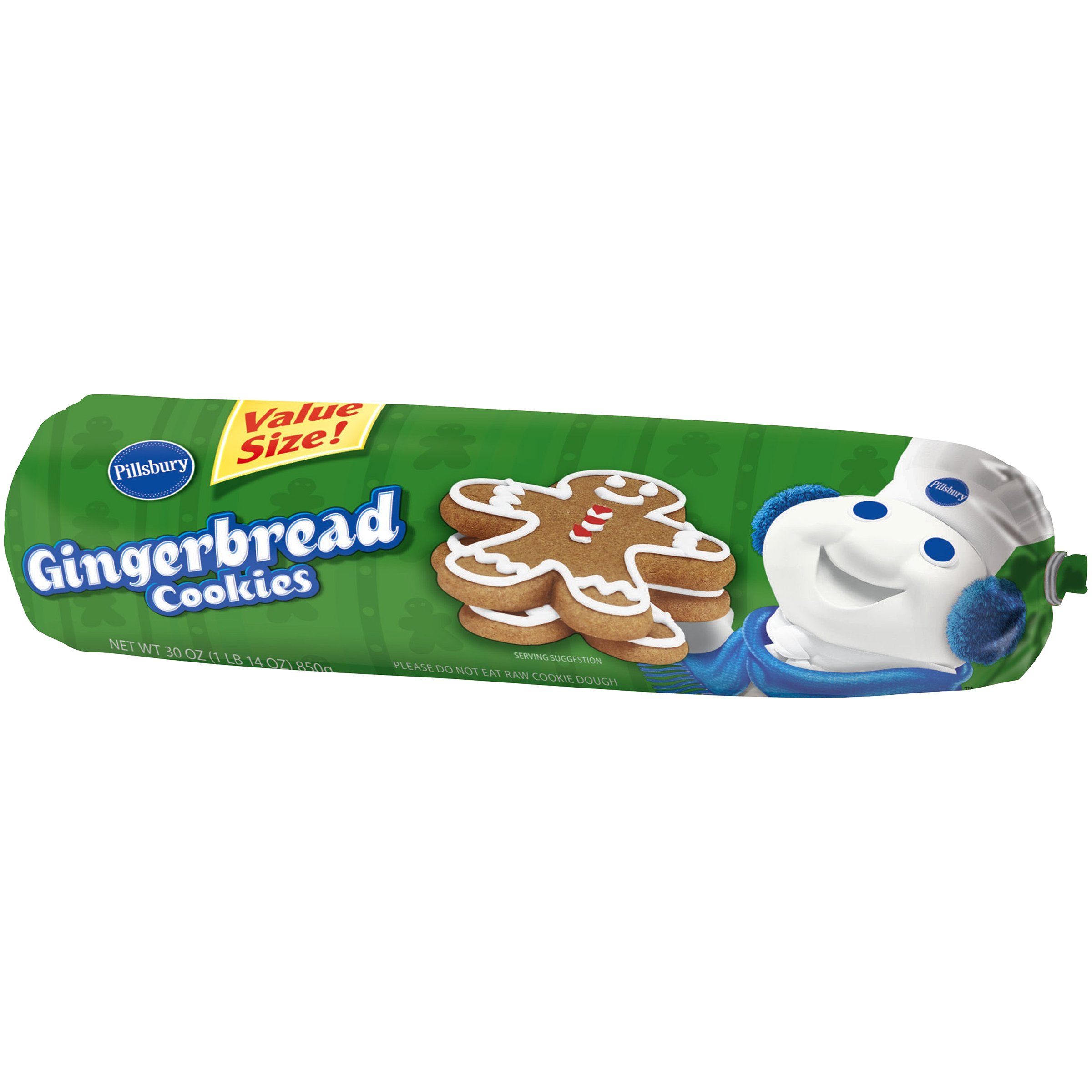 Pillsbury Gingerbread Cookie Chub Shop Biscuit Cookie Dough At H E B