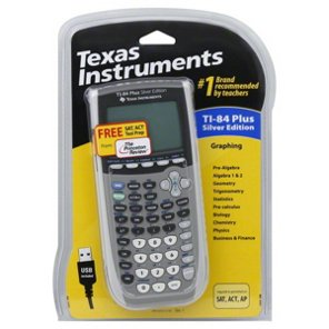 Texas instruments ti 84 plus silver addition graphing calculator texas instruments ti 84 plus silver addition graphing calculator shop classroom accessories at heb urtaz Choice Image