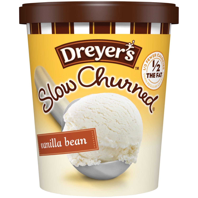 Slow Churned Vanilla Bean Ice Cream