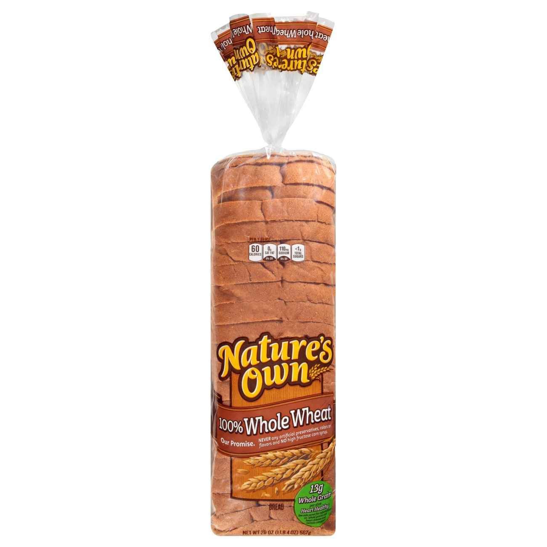 Nature S Own 100 Whole Wheat Bread Shop Bread At H E B