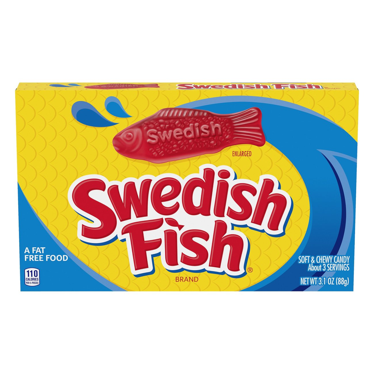 Swedish Fish Soft & Chewy Candy Theater Box - Shop Candy at HEB