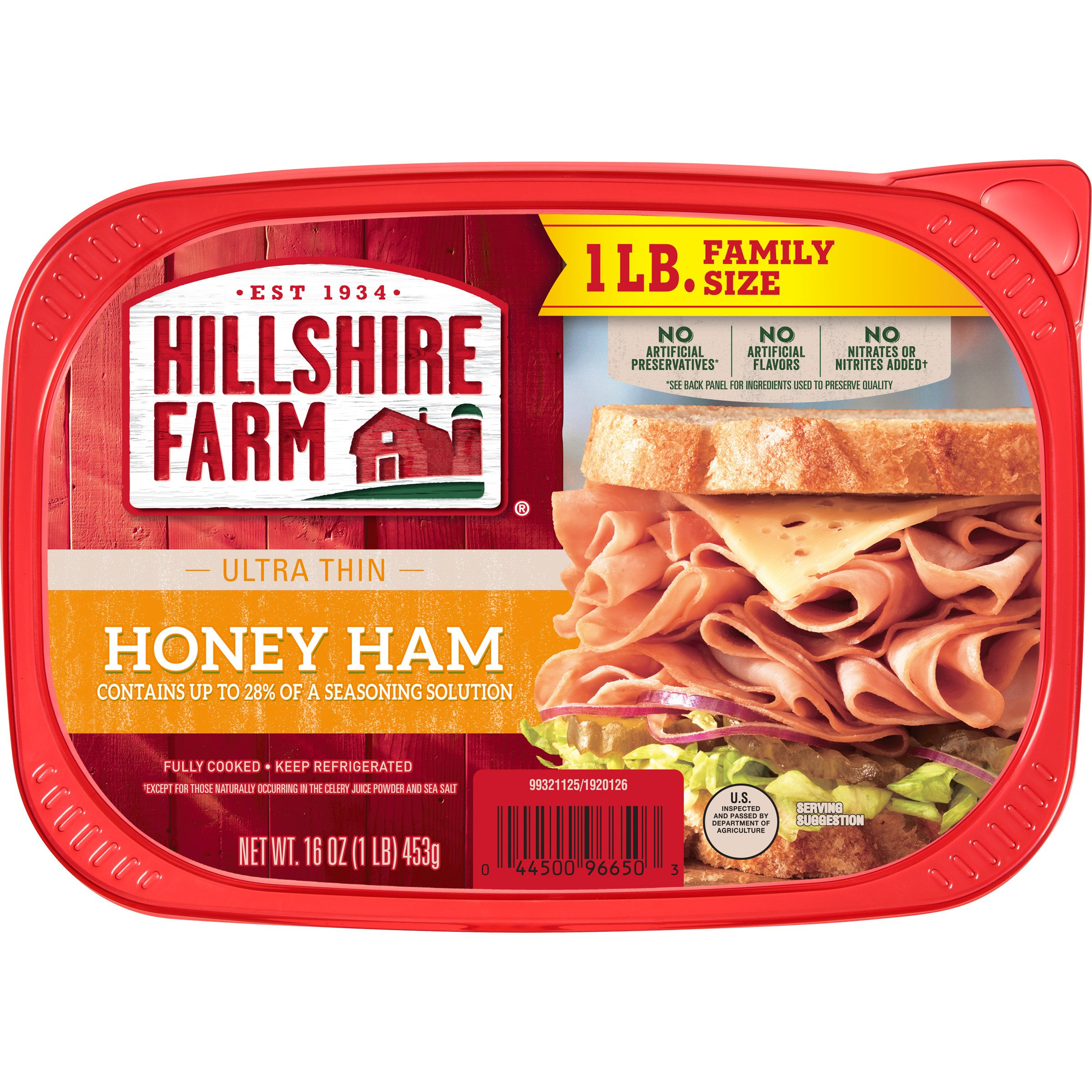 Hillshire Farm Ultra Thin Sliced Lunchmeat Honey Ham ‑ Shop Meat at H‑E‑B