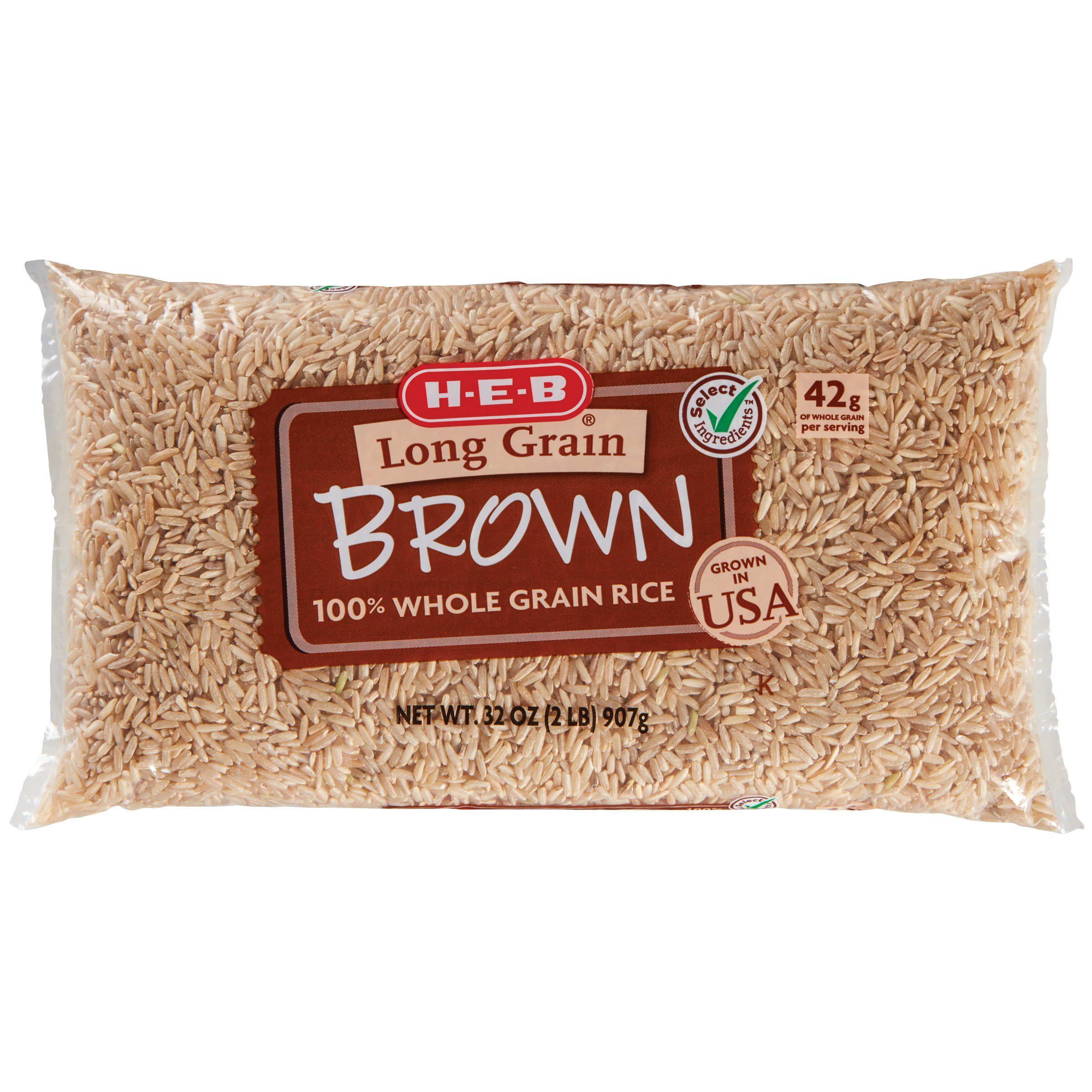 Rice Grains Shop Heb Everyday Low Prices Pure Green Organic Long Grain 1 Kg H E B 100 Whole Brown