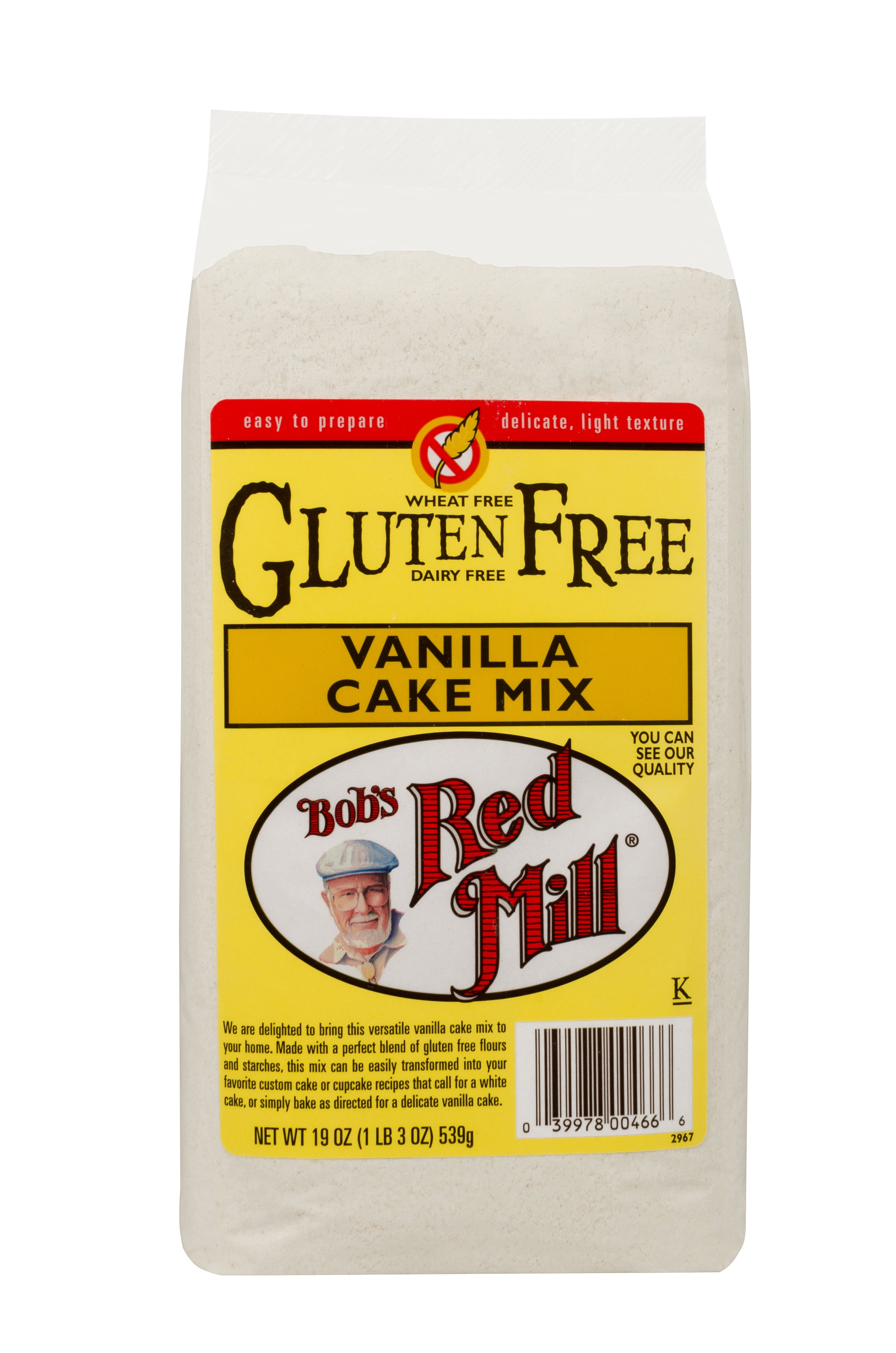 bobs red mill gluten free vanilla cake recipe