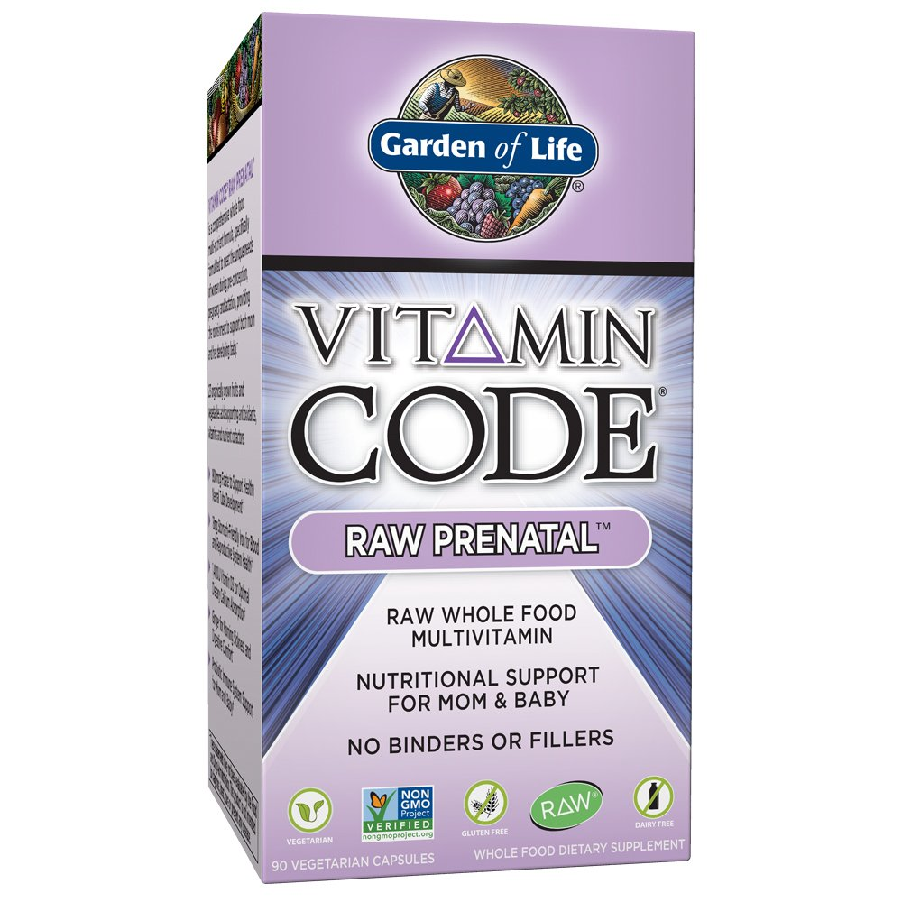 garden of life vitamin code raw prenatal vegetarian capsules shop multivitamins at heb - Garden Of Life Prenatal