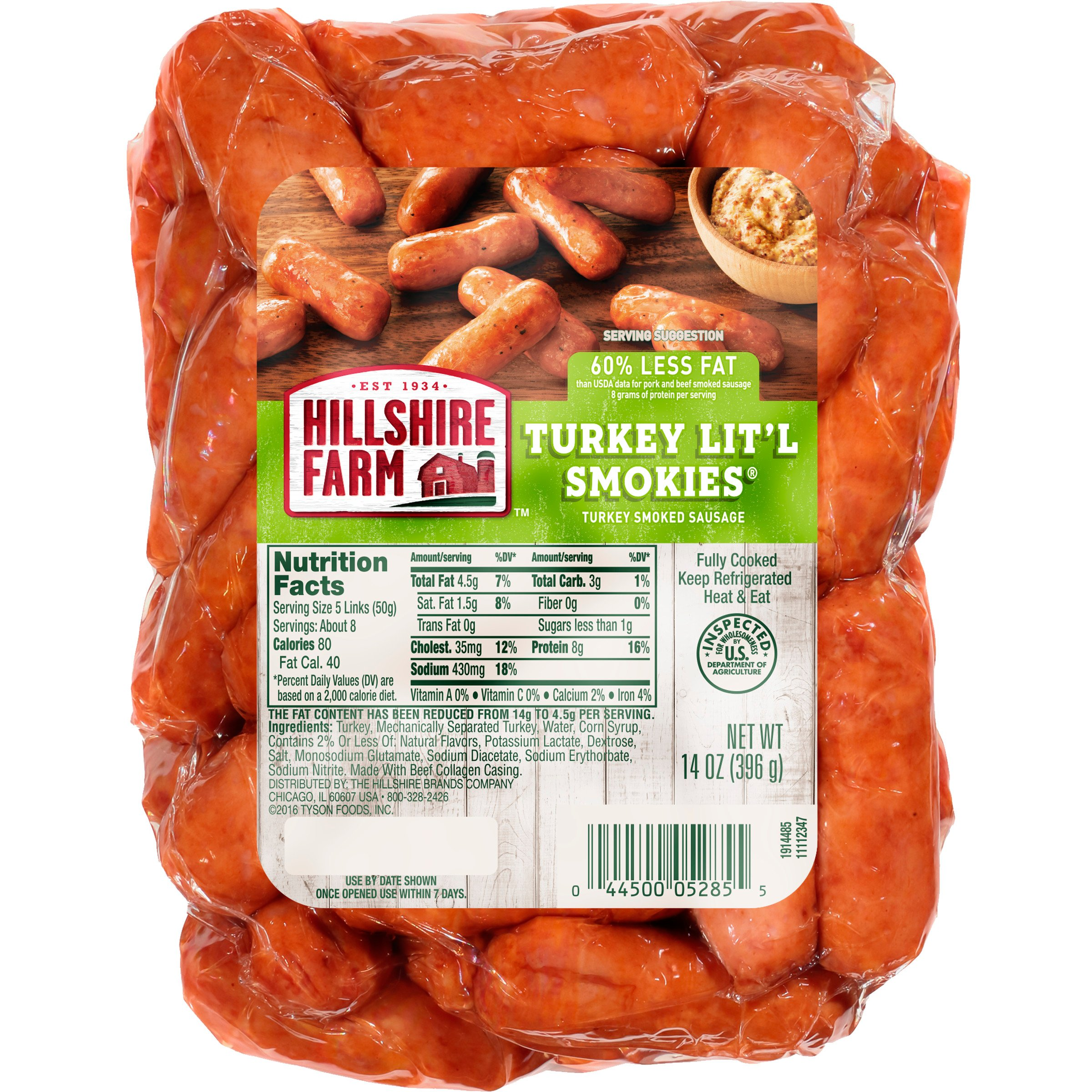 Hillshire Farm Lit L Smokies Turkey Sausage Shop Sausage At H E B
