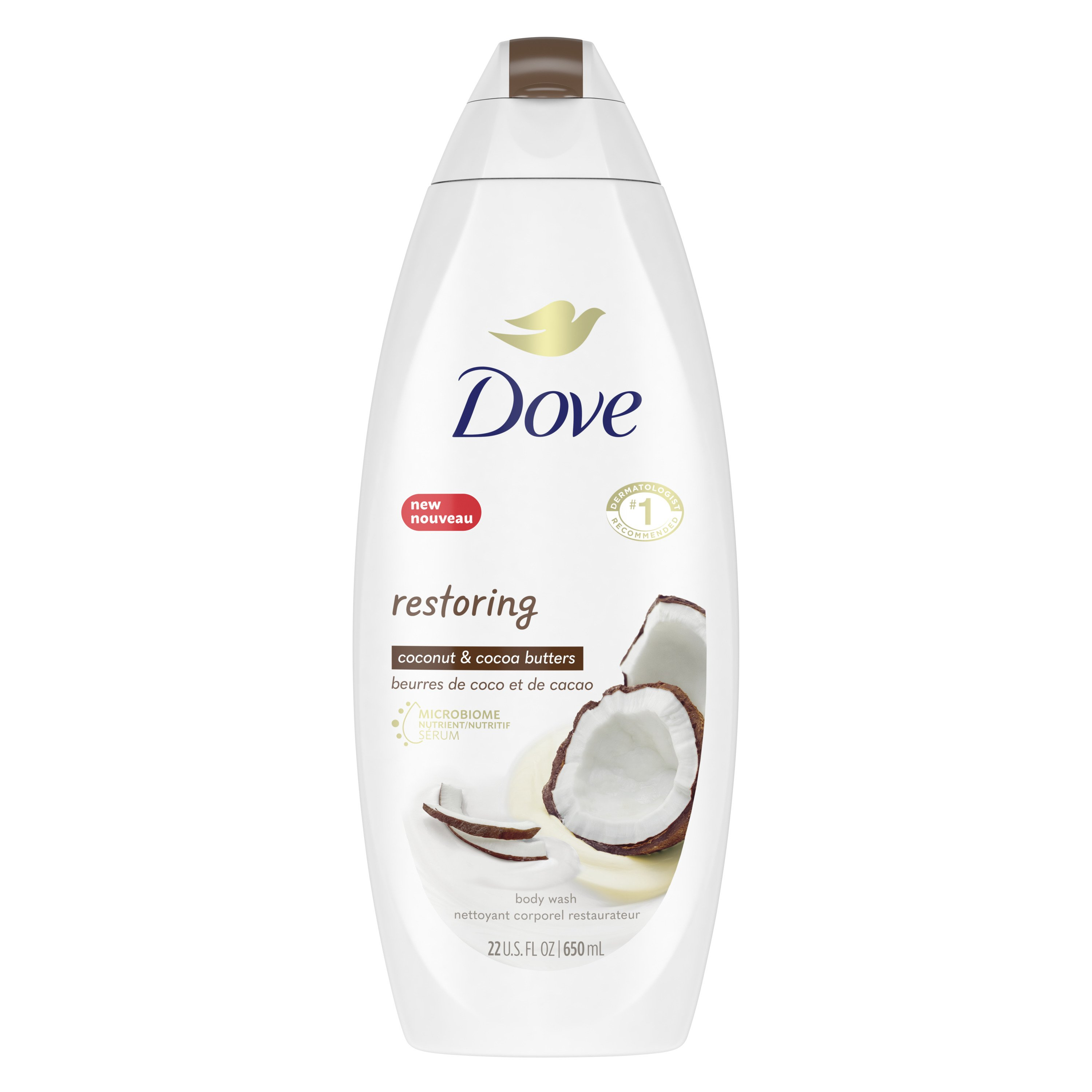 Dove Purely Pampering Coconut Milk With Jasmine Petals Body Wash Shop Body Wash At H E B