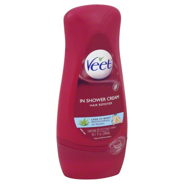 Veet In Shower Cream Hair Remover Shop Depilatories Wax At H E B