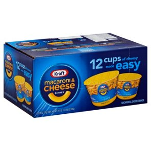 Kraft Easy Mac Original Macaroni And Cheese Cups Dinners At Heb