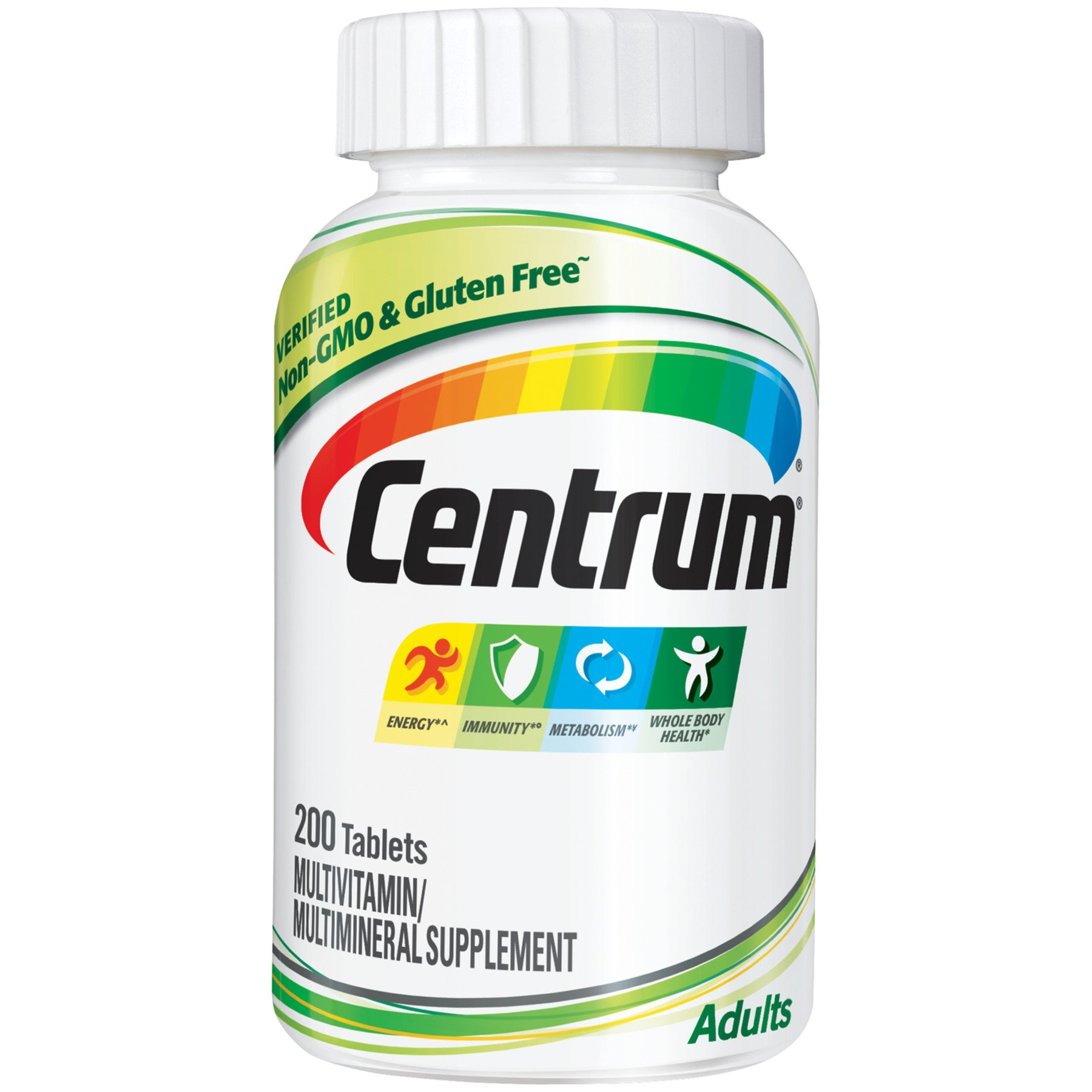 Centrum Multivitamin Multimineral Supplement Adults Under 50 Tablets Shop Multivitamins At H E B