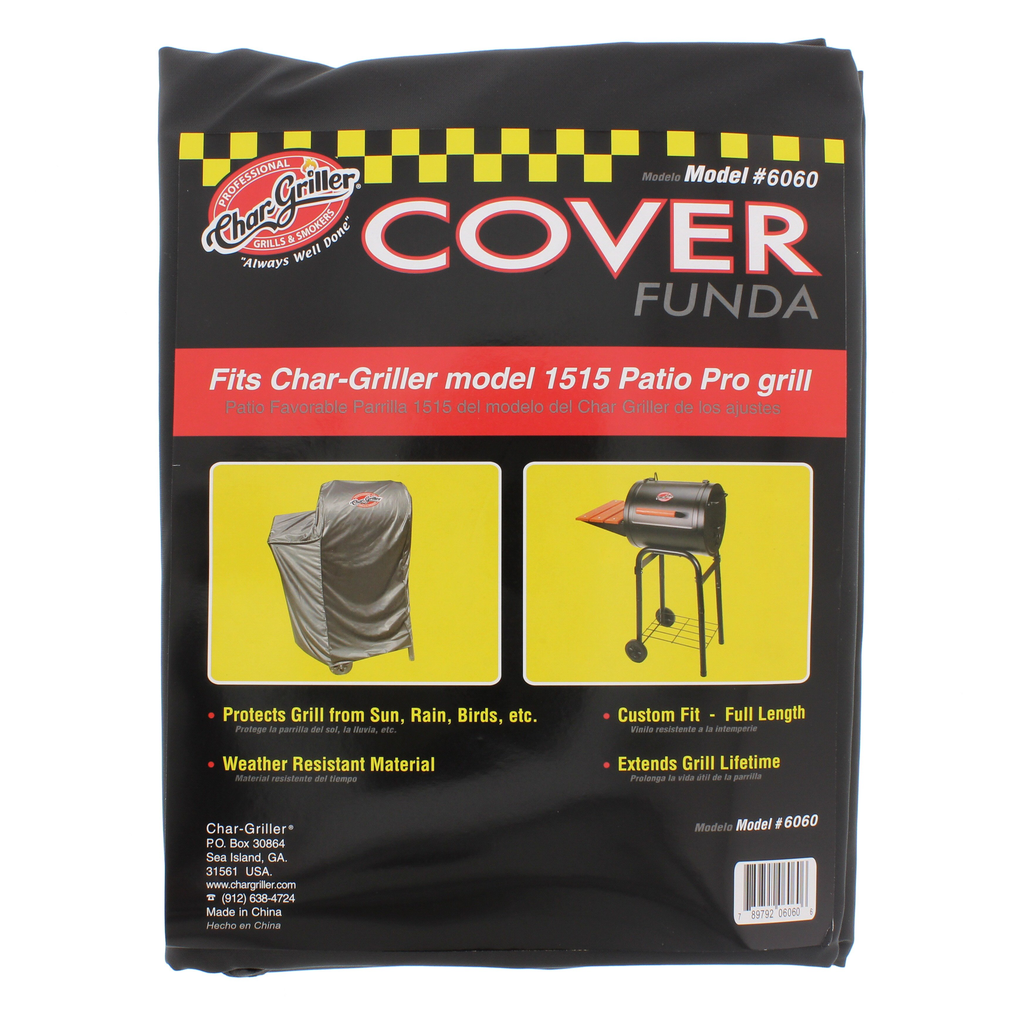 Char Griller Patio Pro Grill Cover   Shop Grilling Accessories At HEB
