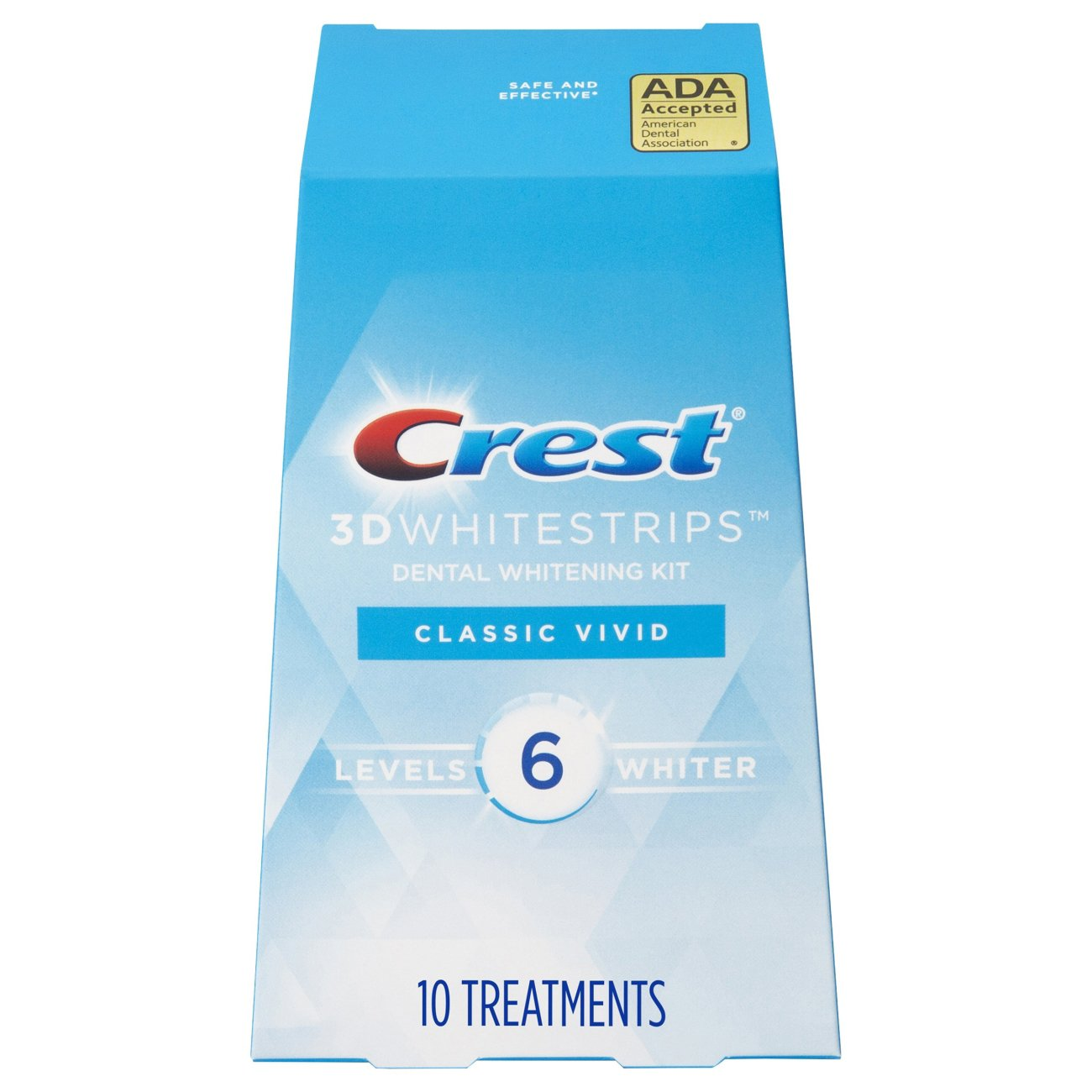 Crest 3d Whitestrips Classic Vivid Teeth Whitening Kit Shop