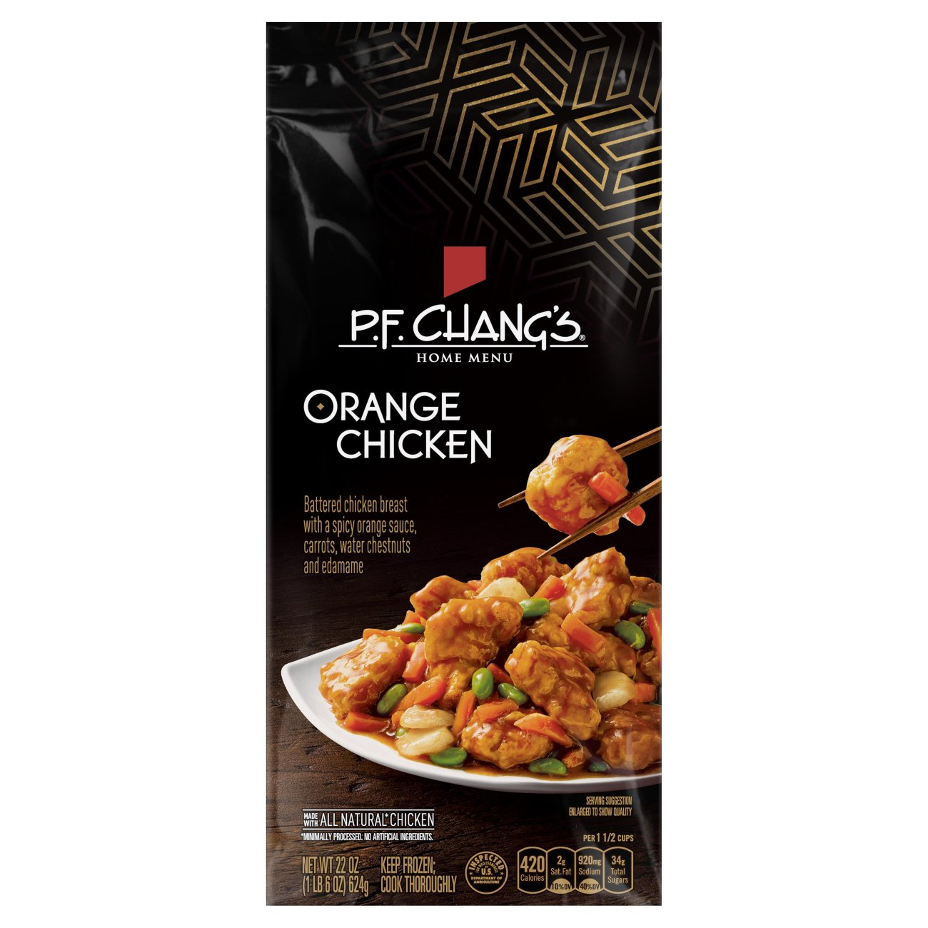 P F Chang S Home Menu Orange Chicken Shop Entrees Sides At H E B