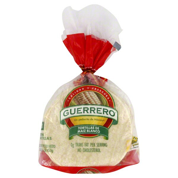 Guerrero White Corn Tortillas Shop Tortillas At H E B
