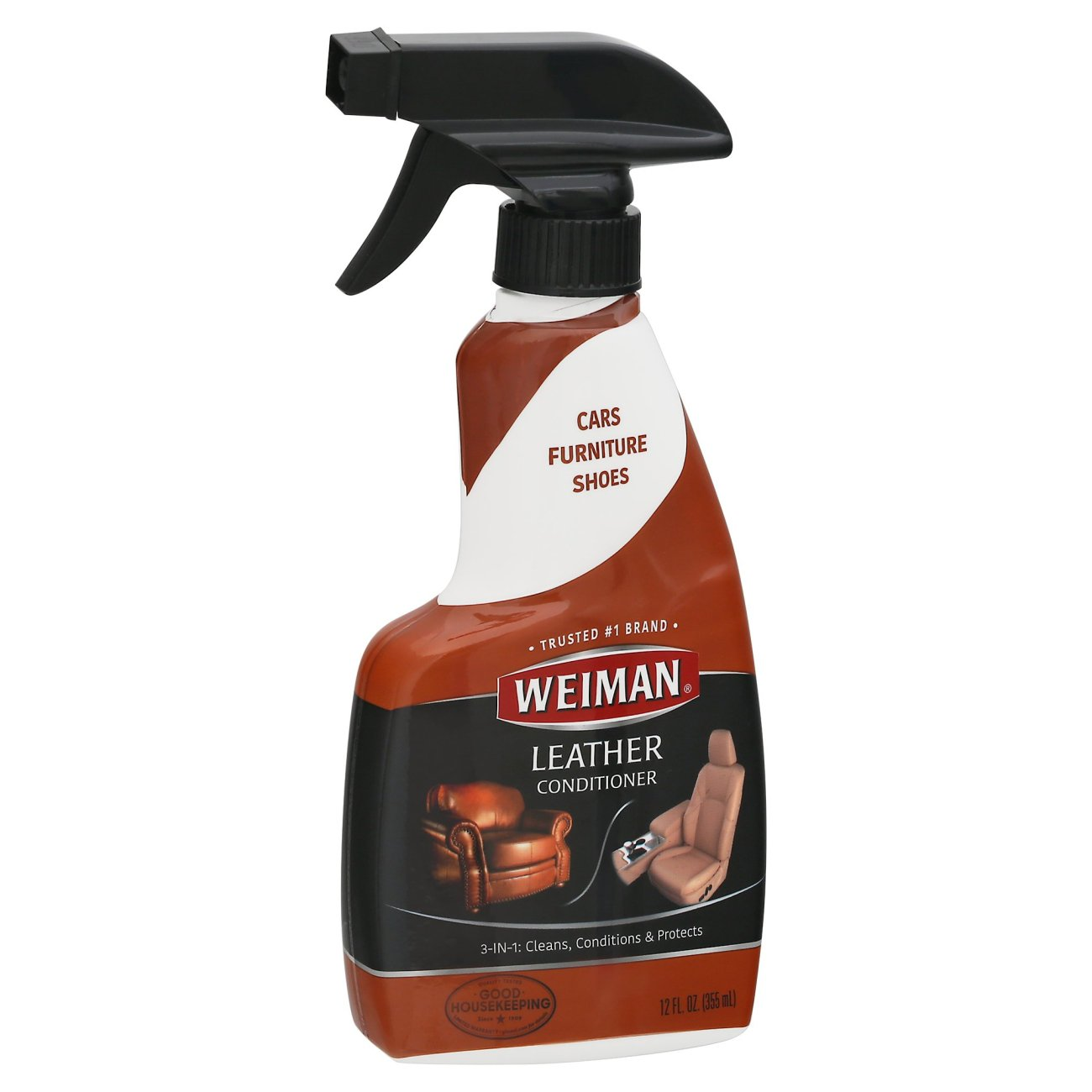 Weiman Leather Cleaner Conditioner Spray Shop Carpet Upholstery Cleaners At H E B