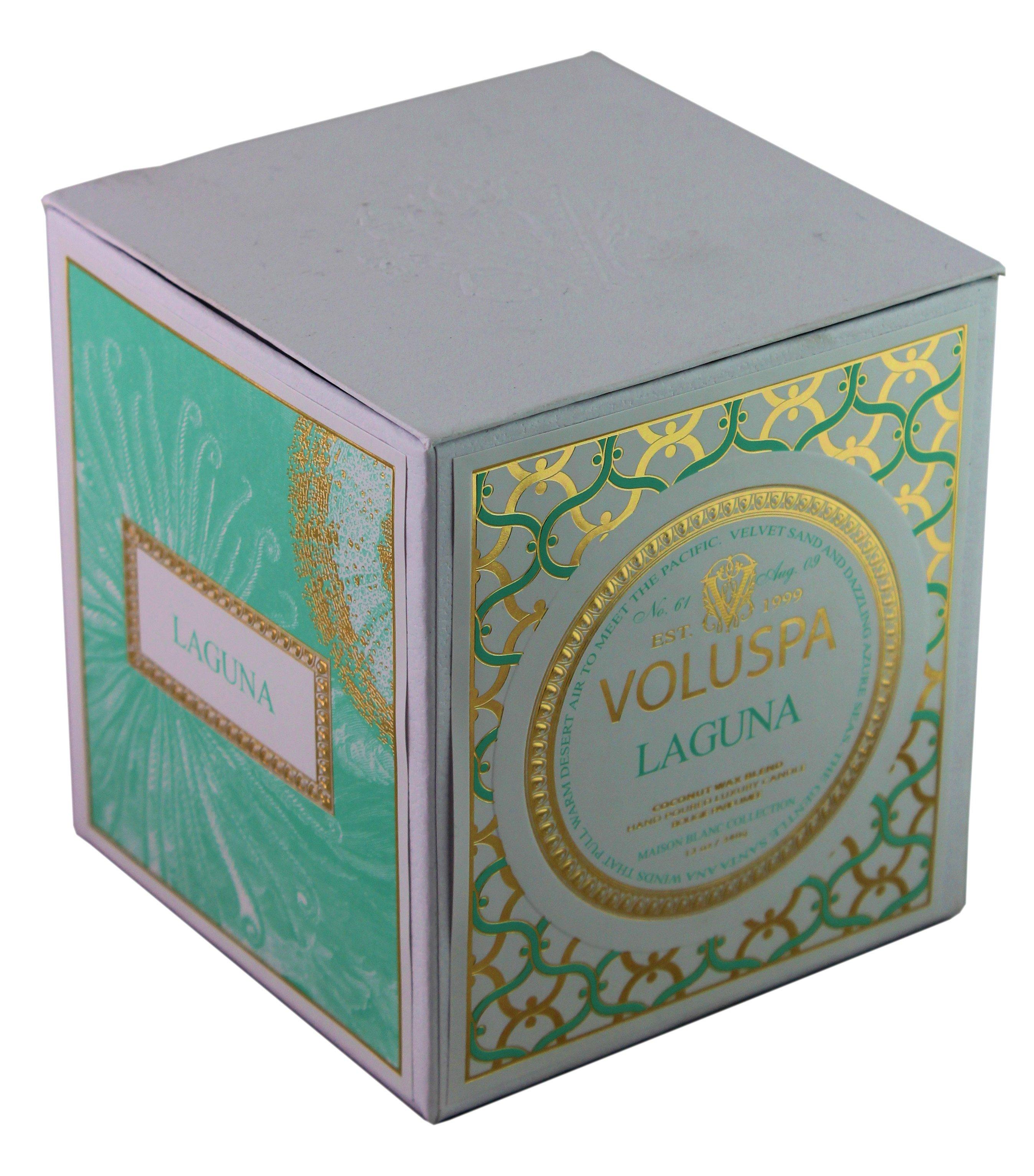 Voluspa Box Candle Laguna