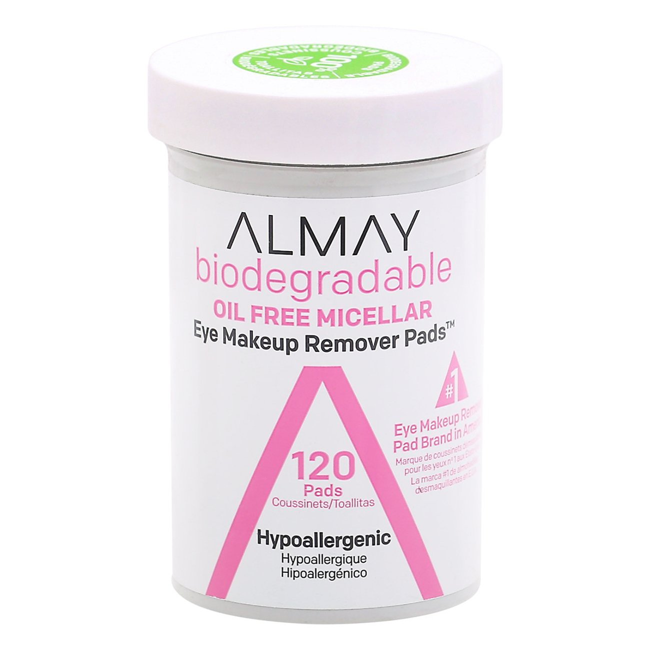 Almay Oil Free Gentle Eye Makeup Remover Pads Shop Makeup Remover