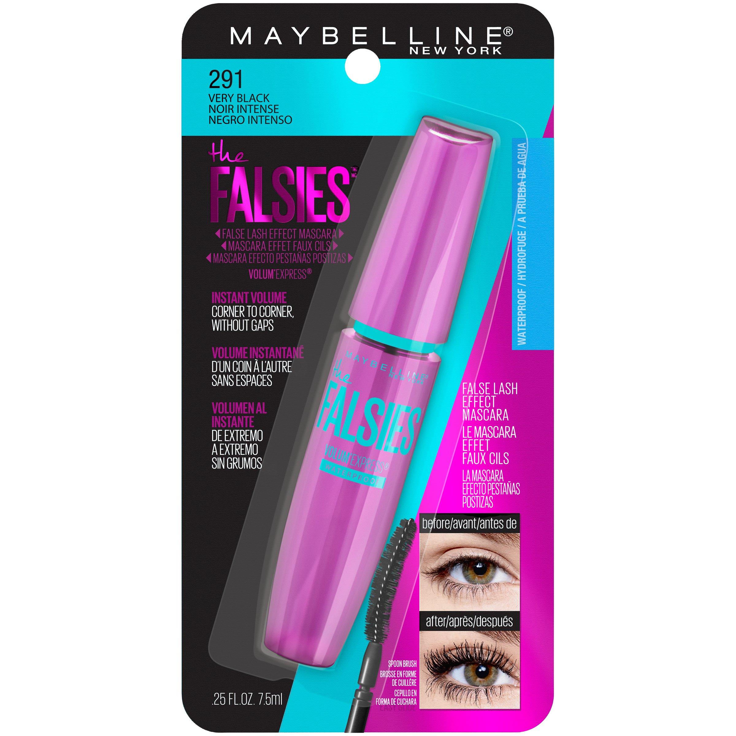 maybelline waterproof mascara
