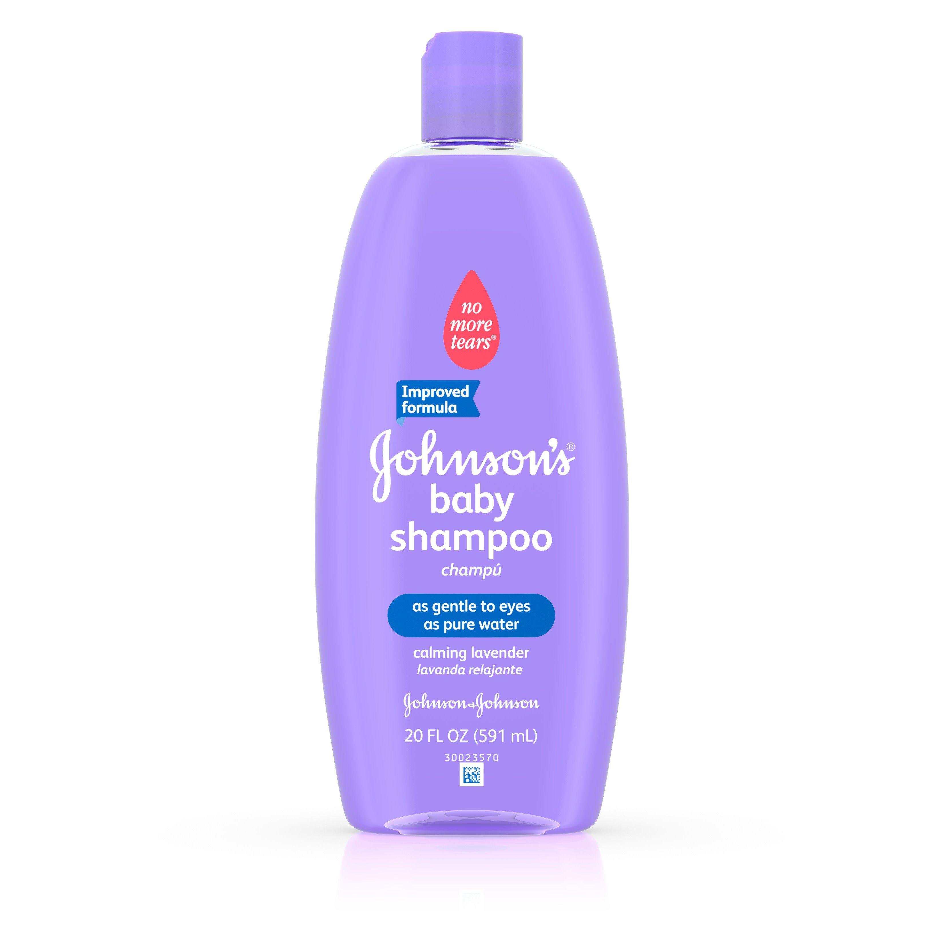 Célèbre Johnson's Baby Shampoo with Natural Lavender - Shop Shampoo and  JB25