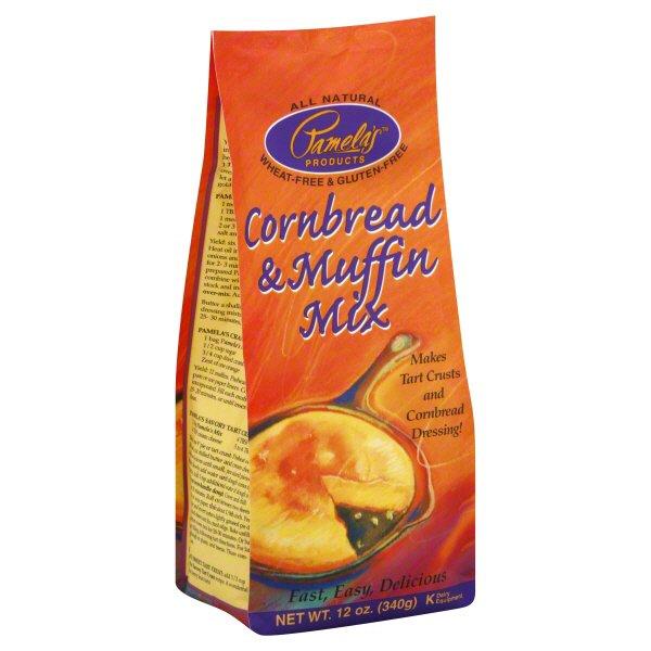 Pamela's Corn Bread & Muffin Mix Gluten Free - Shop Baking ...