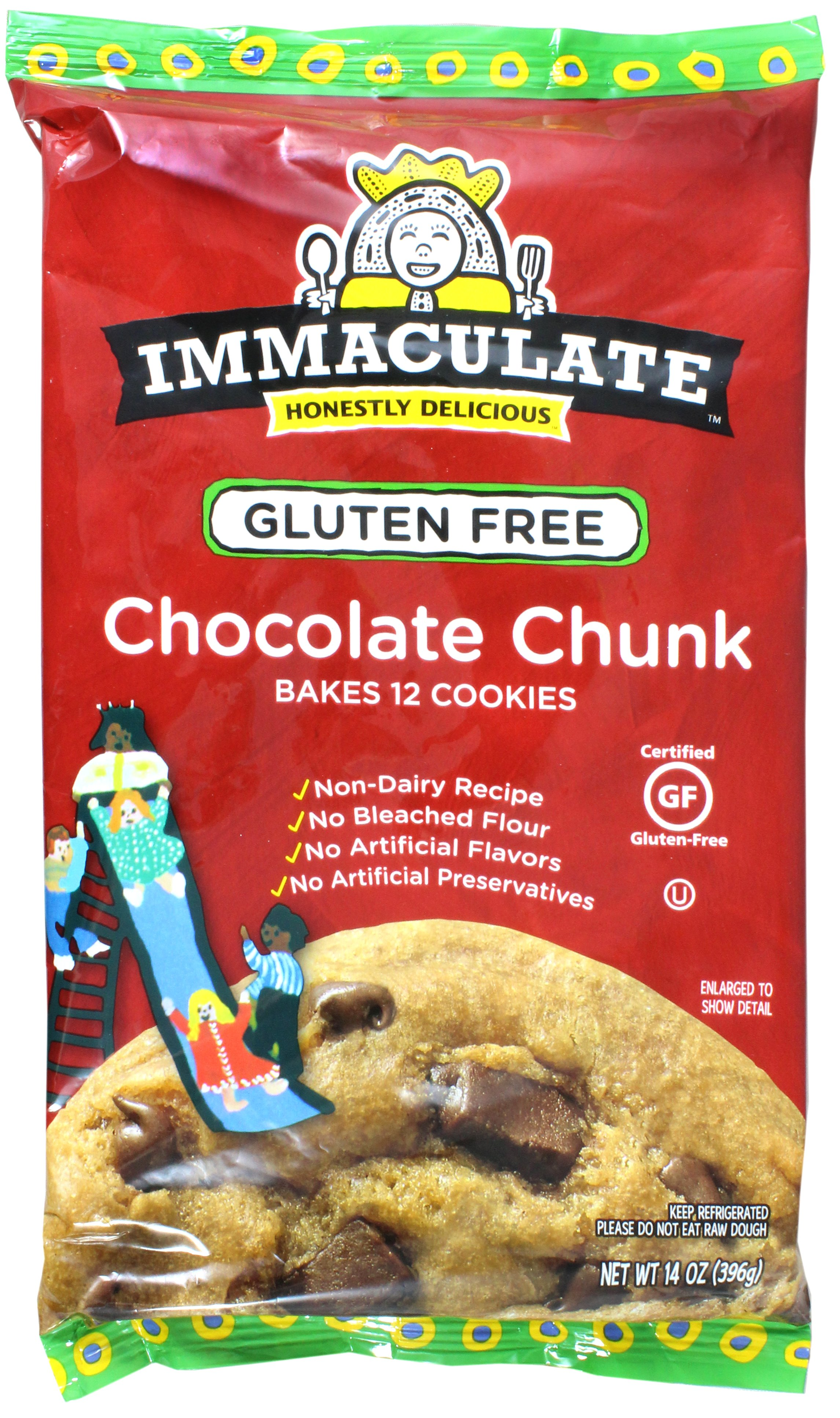 Immaculate baking gluten free chocolate chunk cookie dough shop immaculate baking gluten free chocolate chunk cookie dough shop cookie dough at heb negle Images