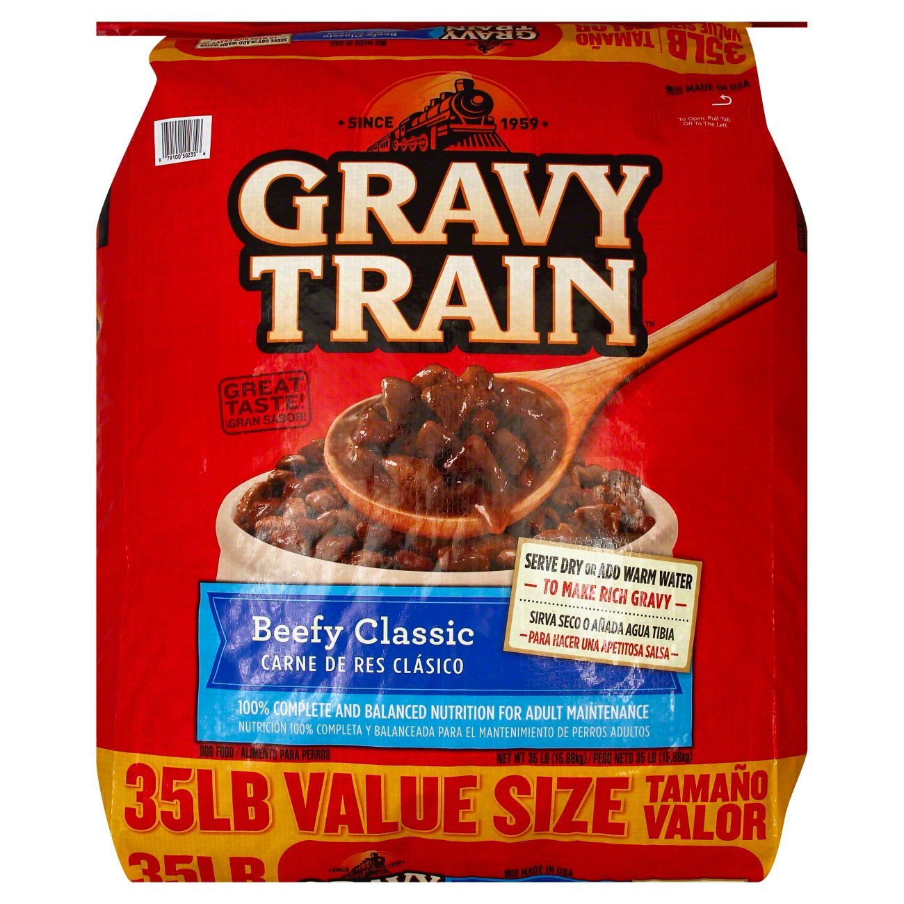 Gravy Train Beef Flavor Dog Food - Shop Dry at HEB