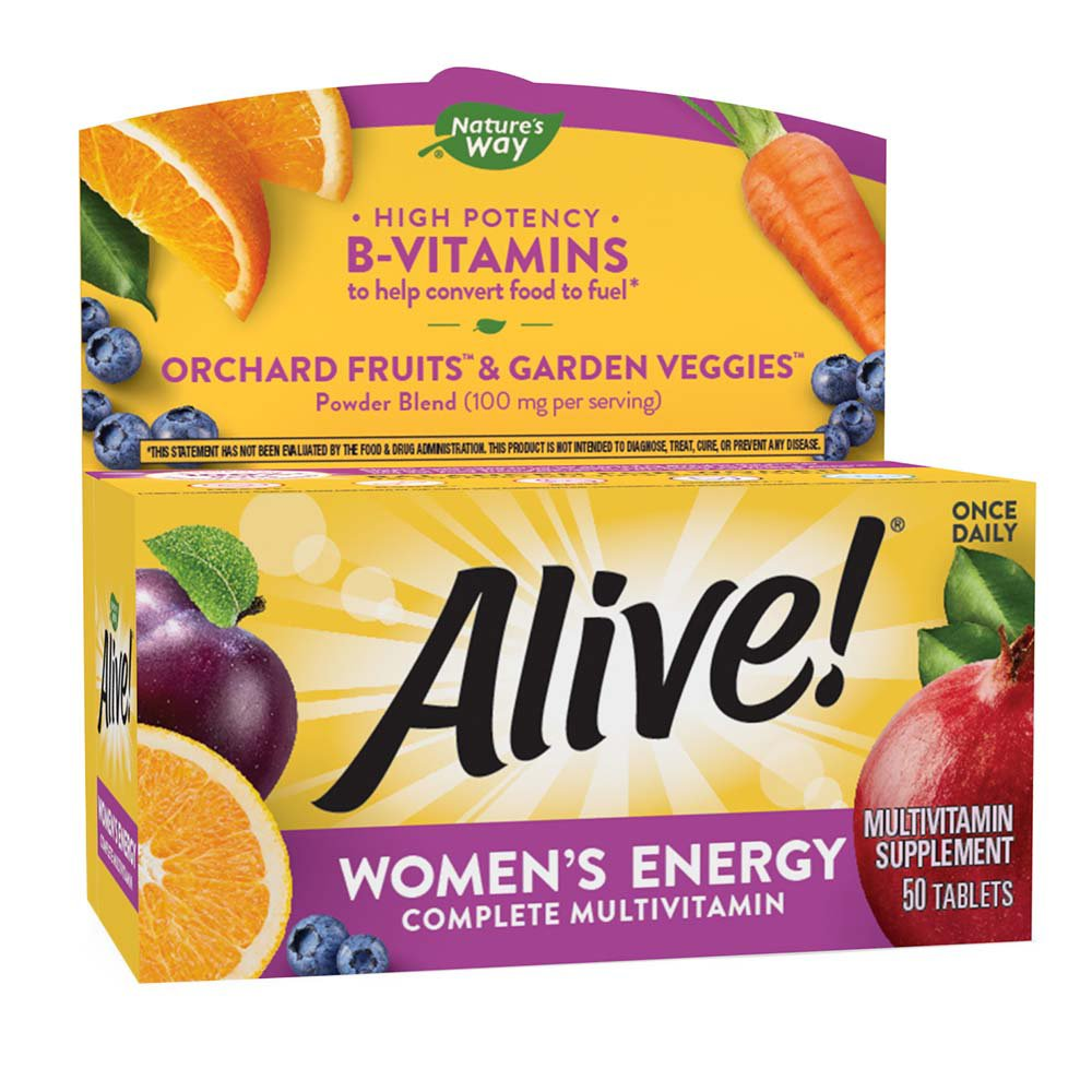 Nature S Way Alive Women S Energy Complete Multivitamin Tablets Shop Multivitamins At H E B