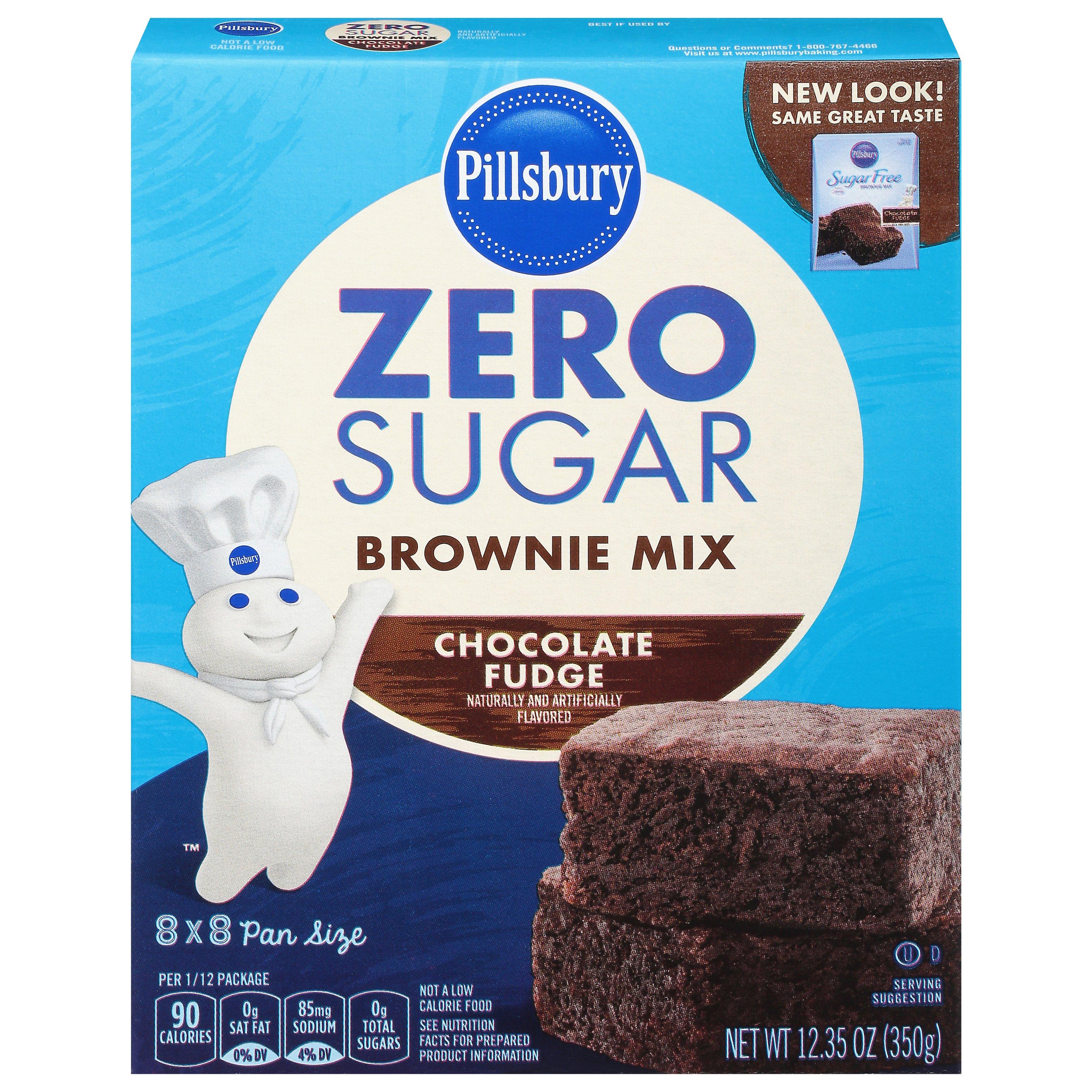 Pillsbury Sugar Free Chocolate Fudge Brownie Mix Shop Baking Mixes At H E B