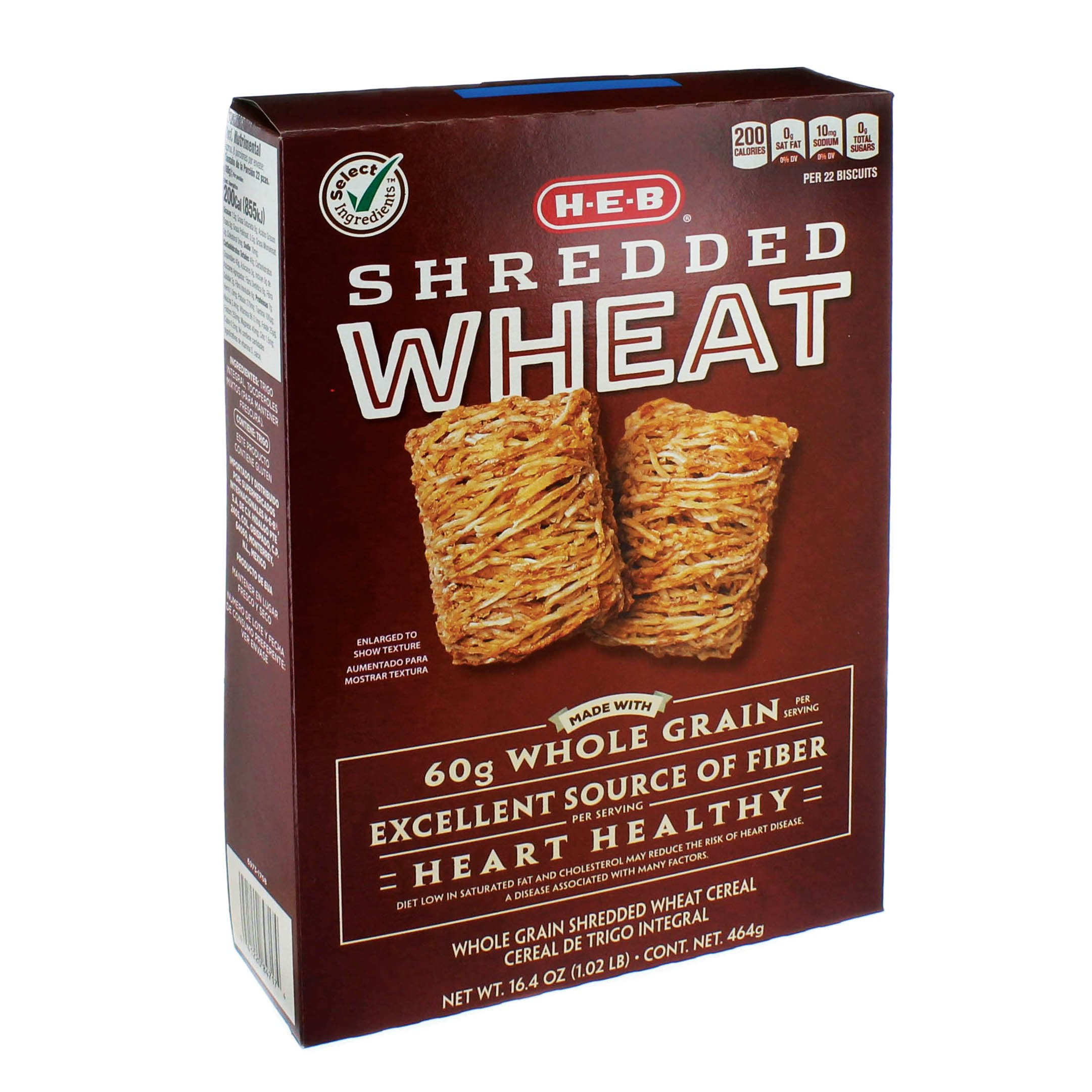 H‑E‑B Select Ingredients Shredded Wheat