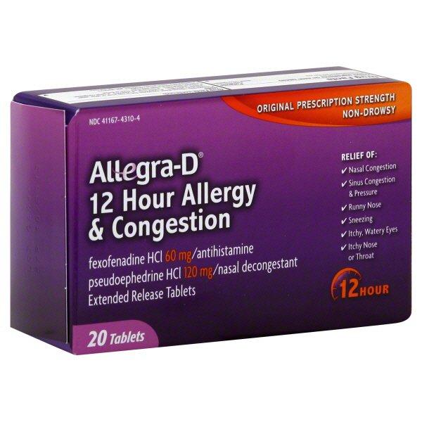 feeding Allegra-d and breast