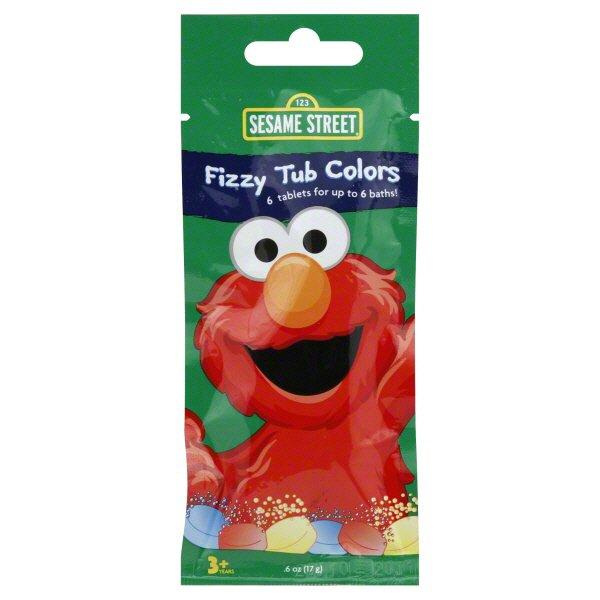Sesame Street Fizzy Tub Colors (Ages 3+) ‑ Shop Sesame Street Fizzy Tub  Colors (Ages 3+) ‑ Shop Sesame Street Fizzy Tub Colors (Ages 3+) ‑ Shop Sesame  Street Fizzy Tub Colors (