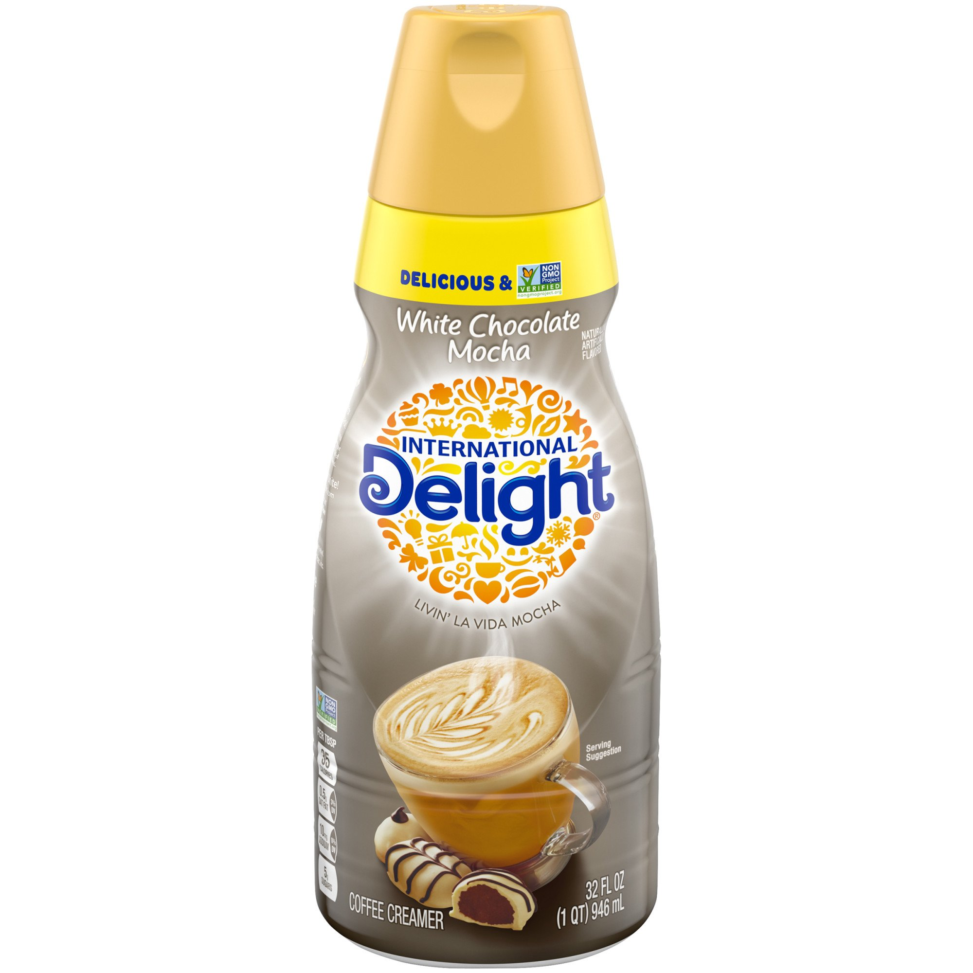 International Delight White Chocolate Mocha Liquid Coffee