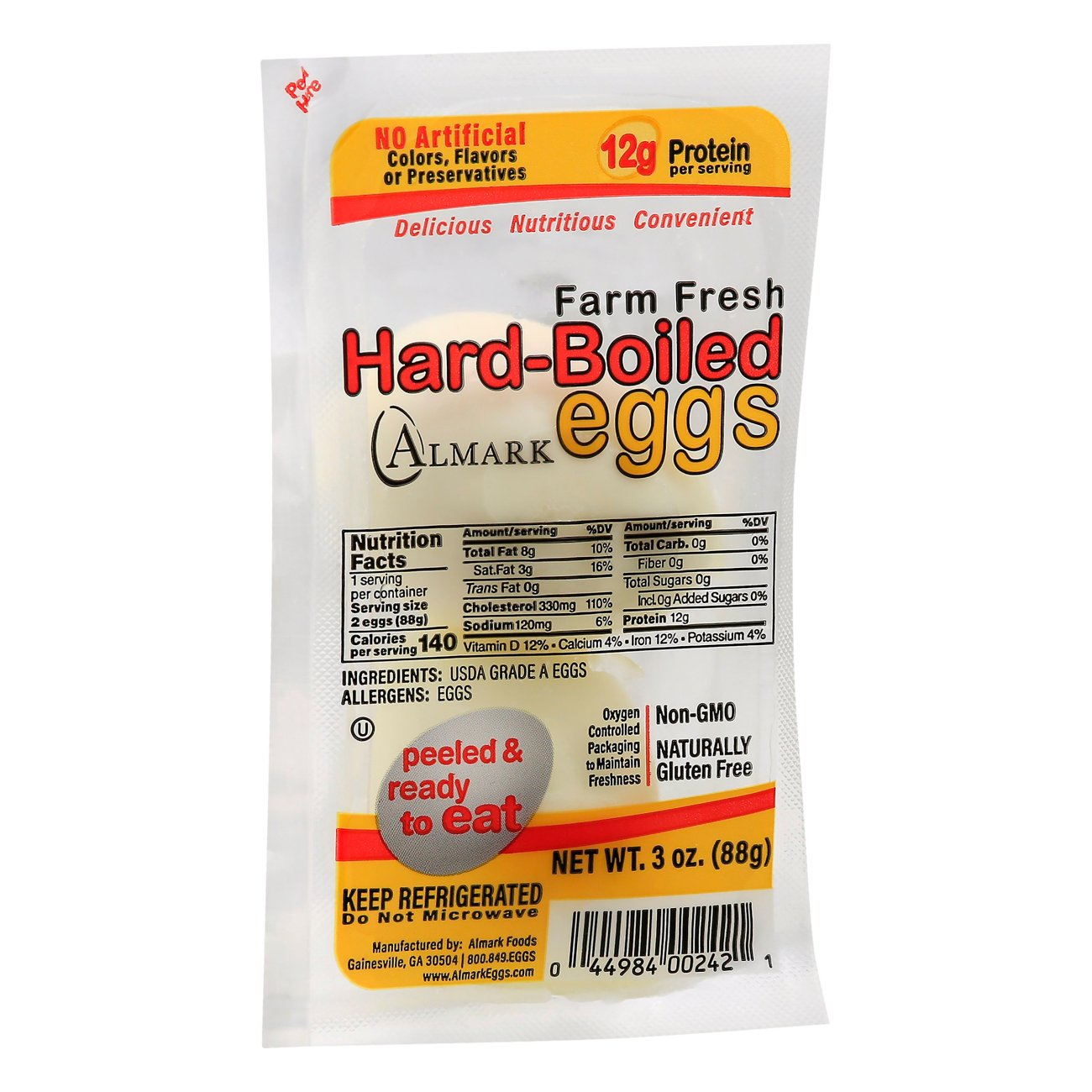 Nutrition Facts Hard Boiled Egg Without Yolk  Nutrition Daily