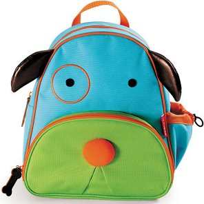 skip hop zoo pack little kid backpack dog shop backpacks at heb