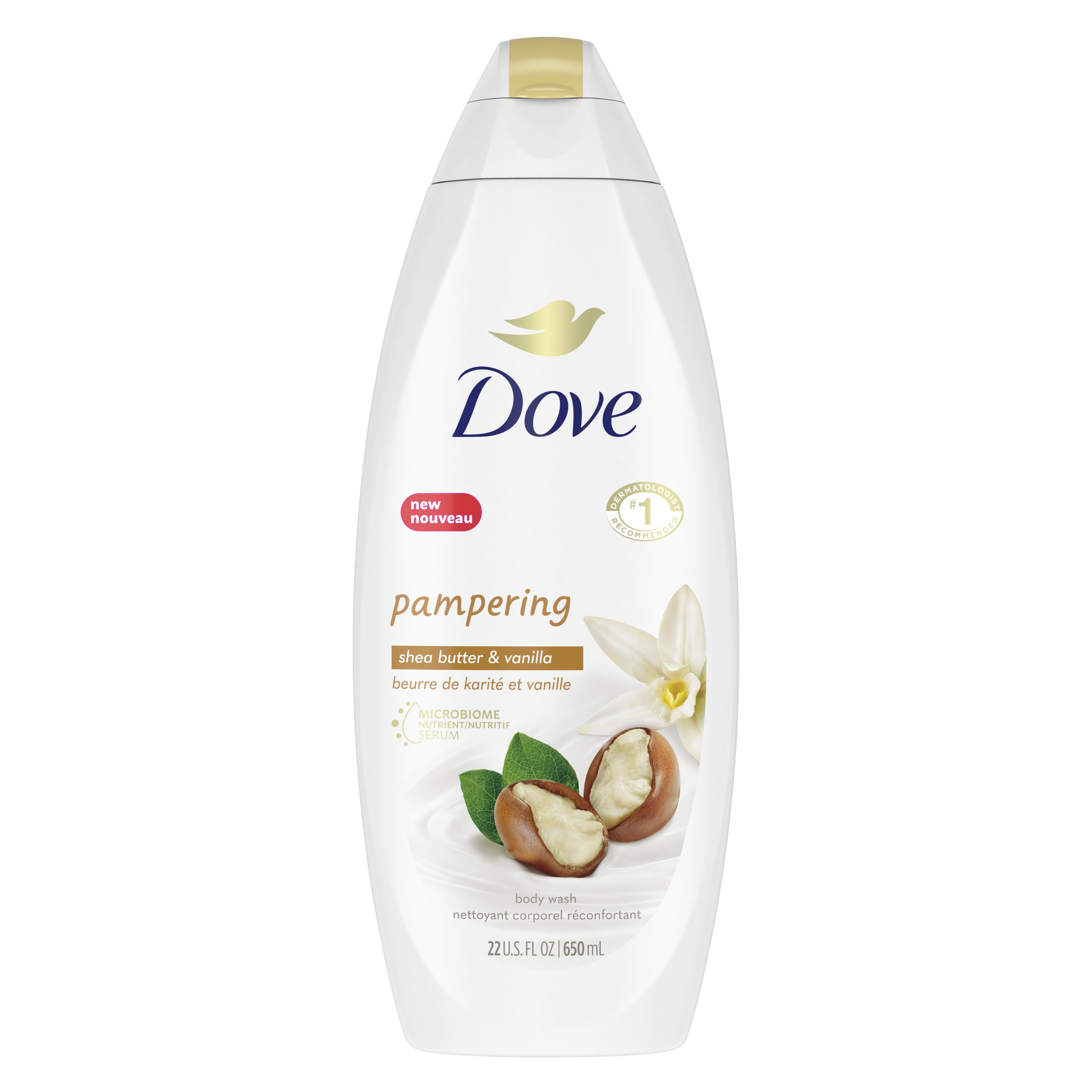 Dove Purely Pampering Shea Butter With Warm Vanilla Body Wash Shop Body Wash At H E B