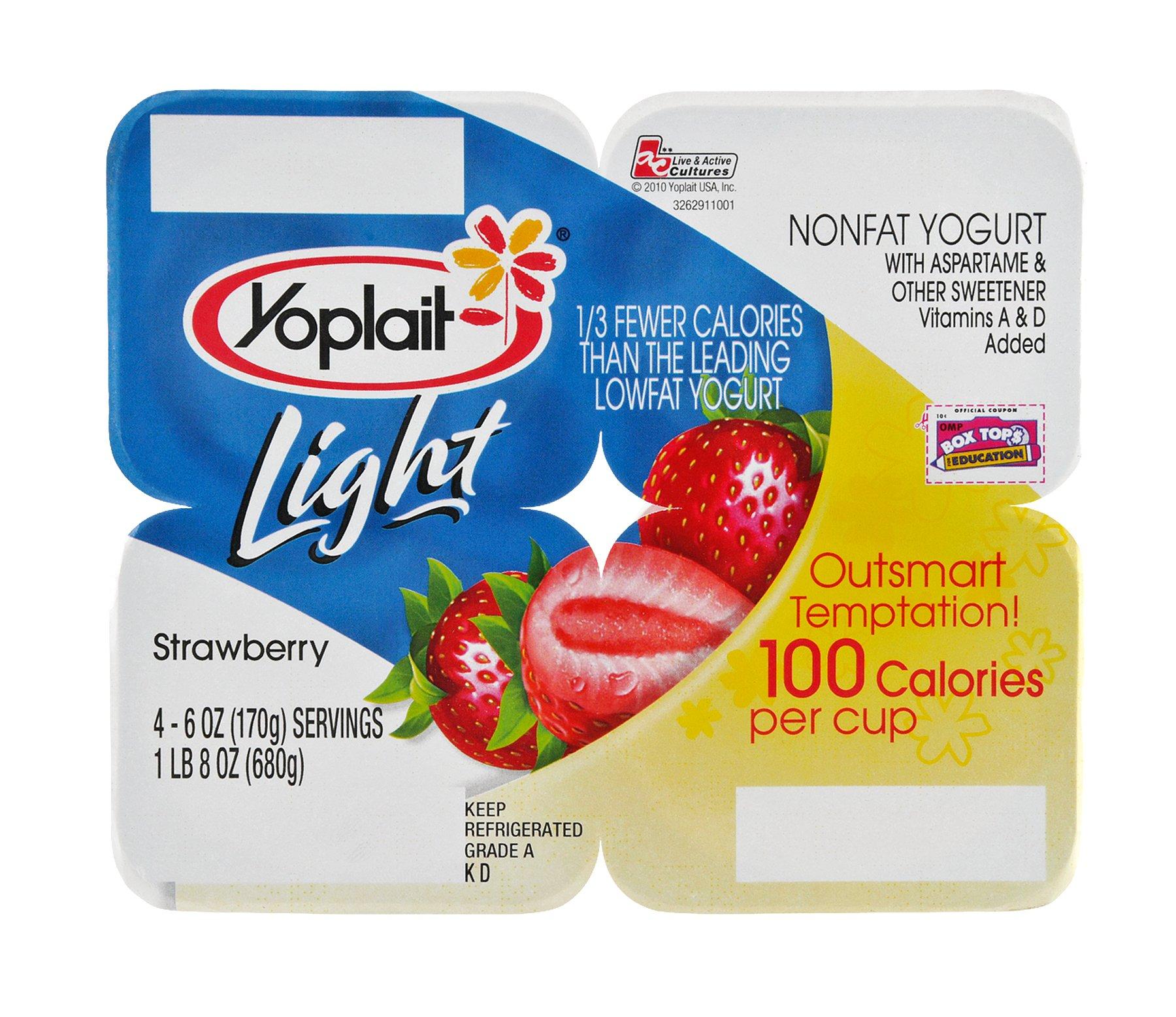 Yoplait Light Fat Free Strawberry