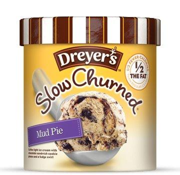 Dreyer's Slow Churned Mud Pie Ice Cream