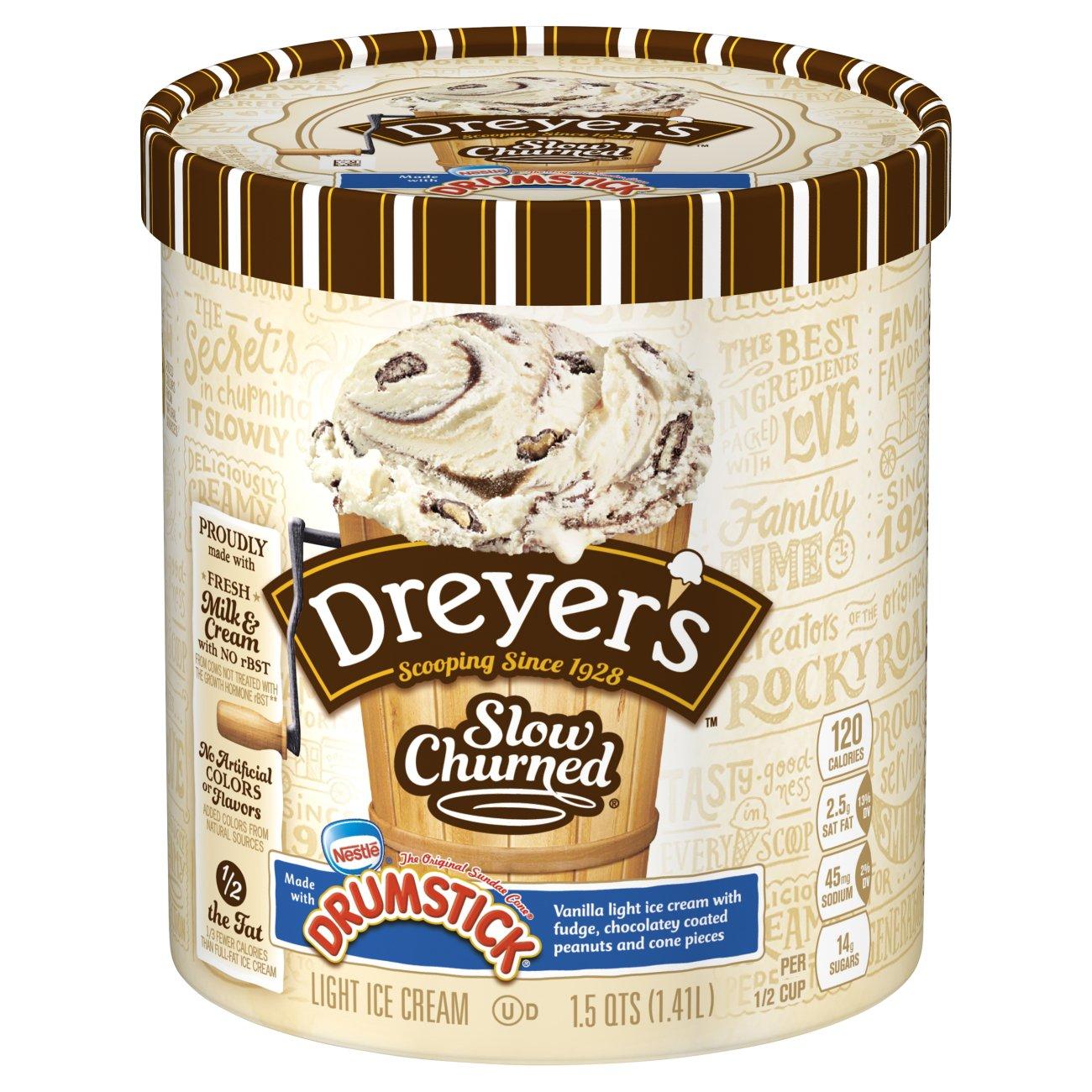 Slow Churned Nestle Drumstick Ice Cream