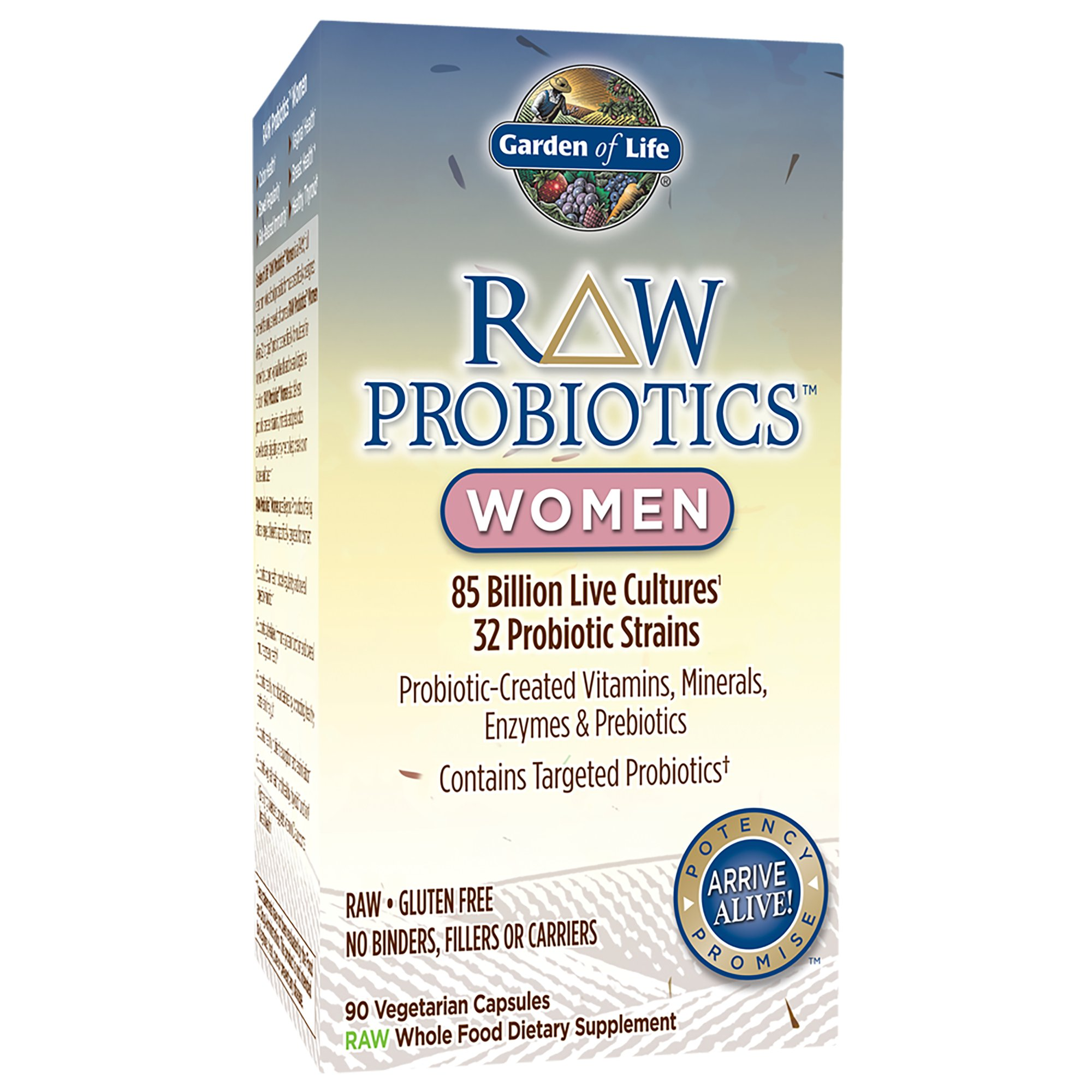 Garden of Life Raw Probiotics Women Vegetarian Capsules Shop
