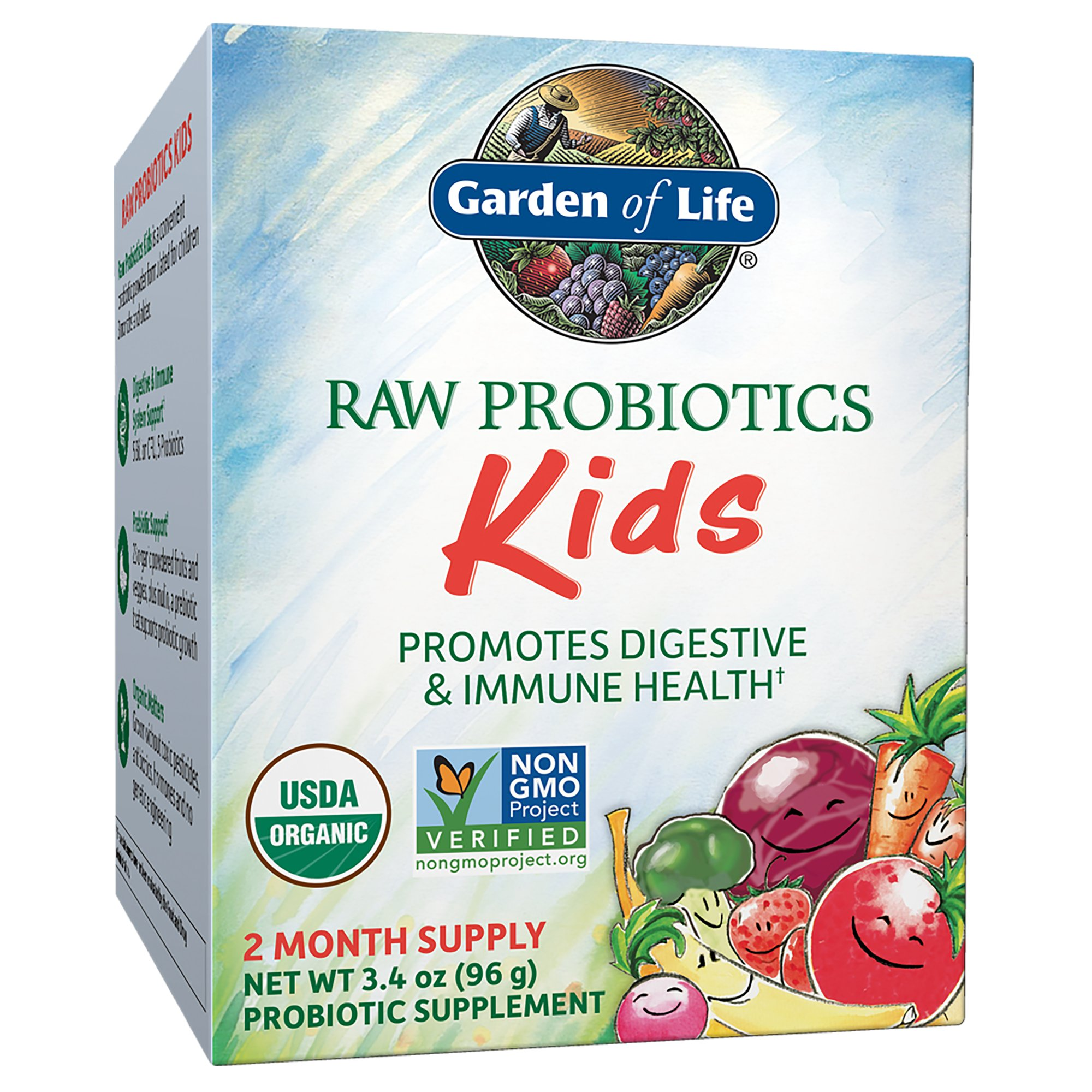 Garden of Life Organic Raw Probiotics Kids Shop Probiotics at HEB