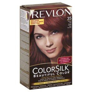 Medium Brown Hair Color Revlon Best Golden Colorsilk