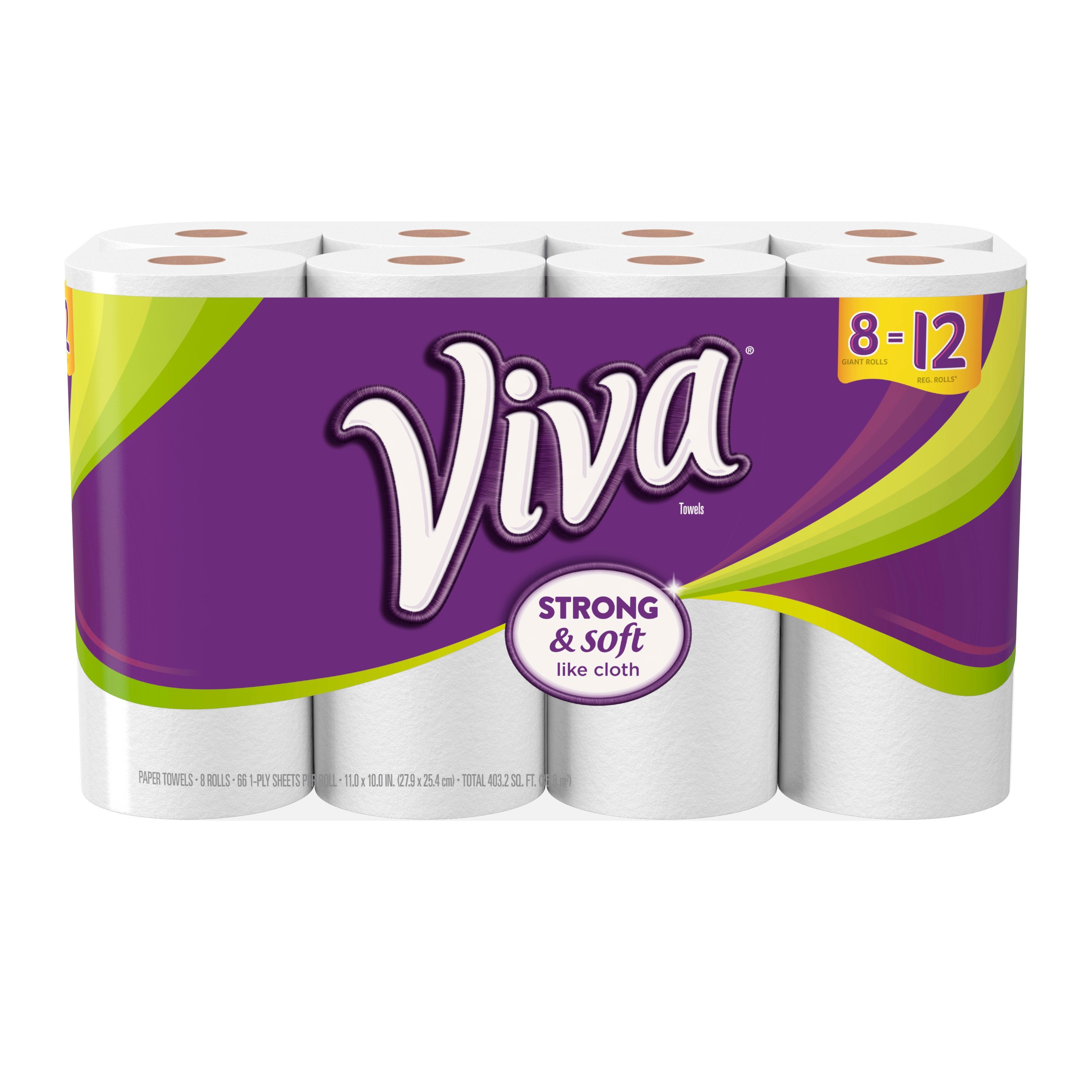 Viva White Paper Towel Giant Rolls - Shop Paper Towels at ...