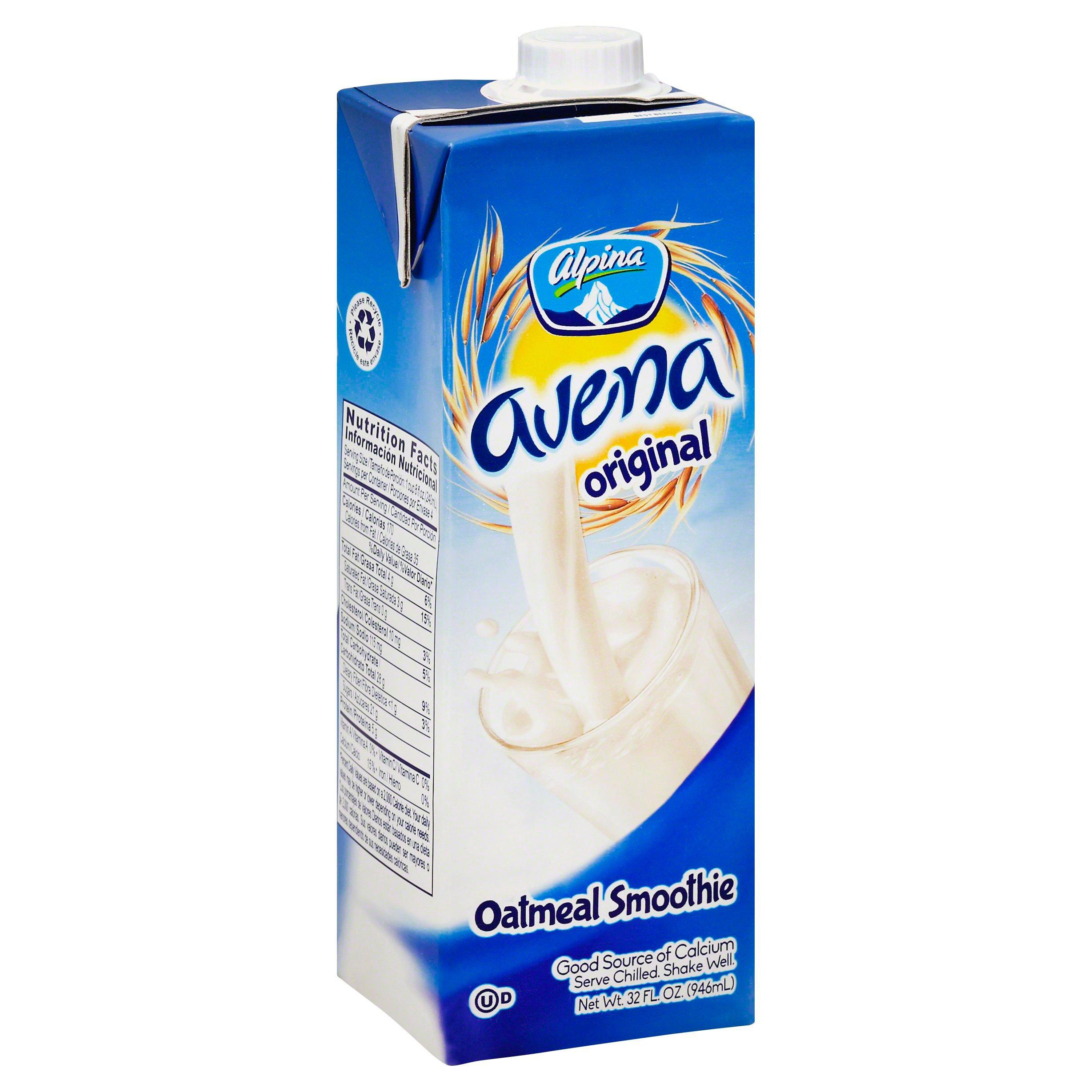 Alpina Avena Original Oat Based Smoothie - Shop Latin American at HEB
