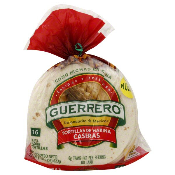 Guerrero Flour Tortillas Shop Tortillas At H E B