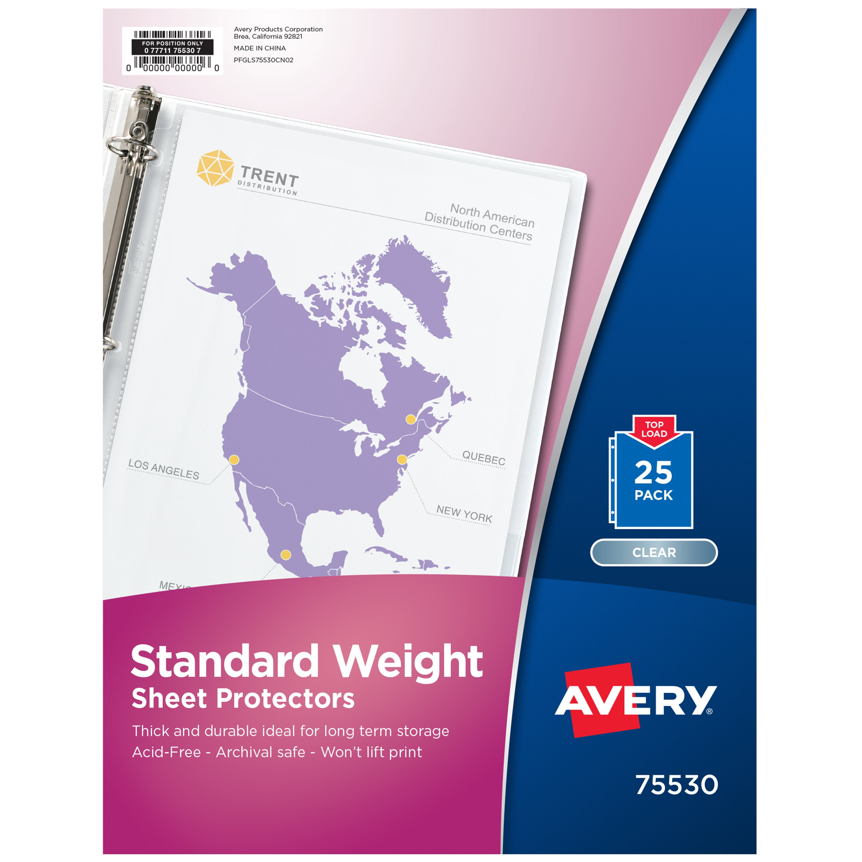 Avery standard weight clear sheet protectors shop dividers avery standard weight clear sheet protectors shop dividers labels at heb reheart Choice Image