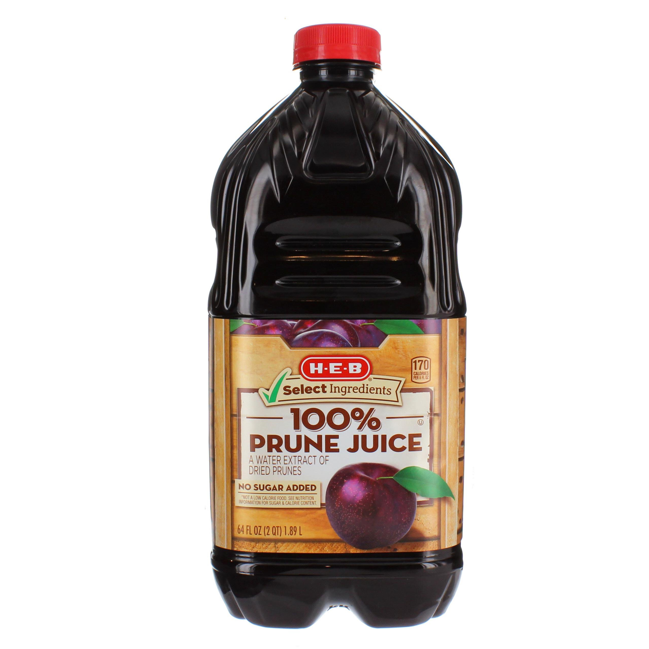 H E B Select Ingredients 100 Prune Juice Shop Juice At H E B