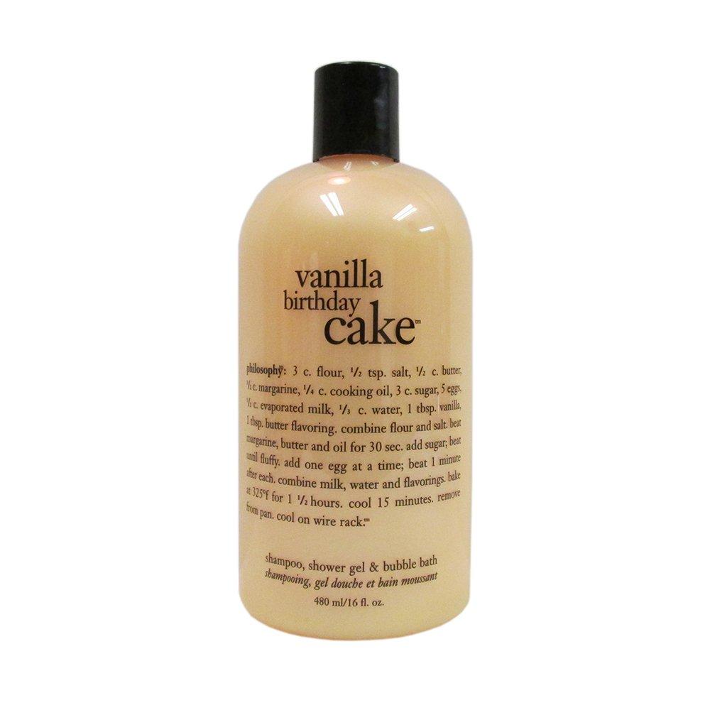 Astonishing Philosophy Vanilla Birthday Cake 3 In 1 Shampoo Shower Gel And Birthday Cards Printable Giouspongecafe Filternl