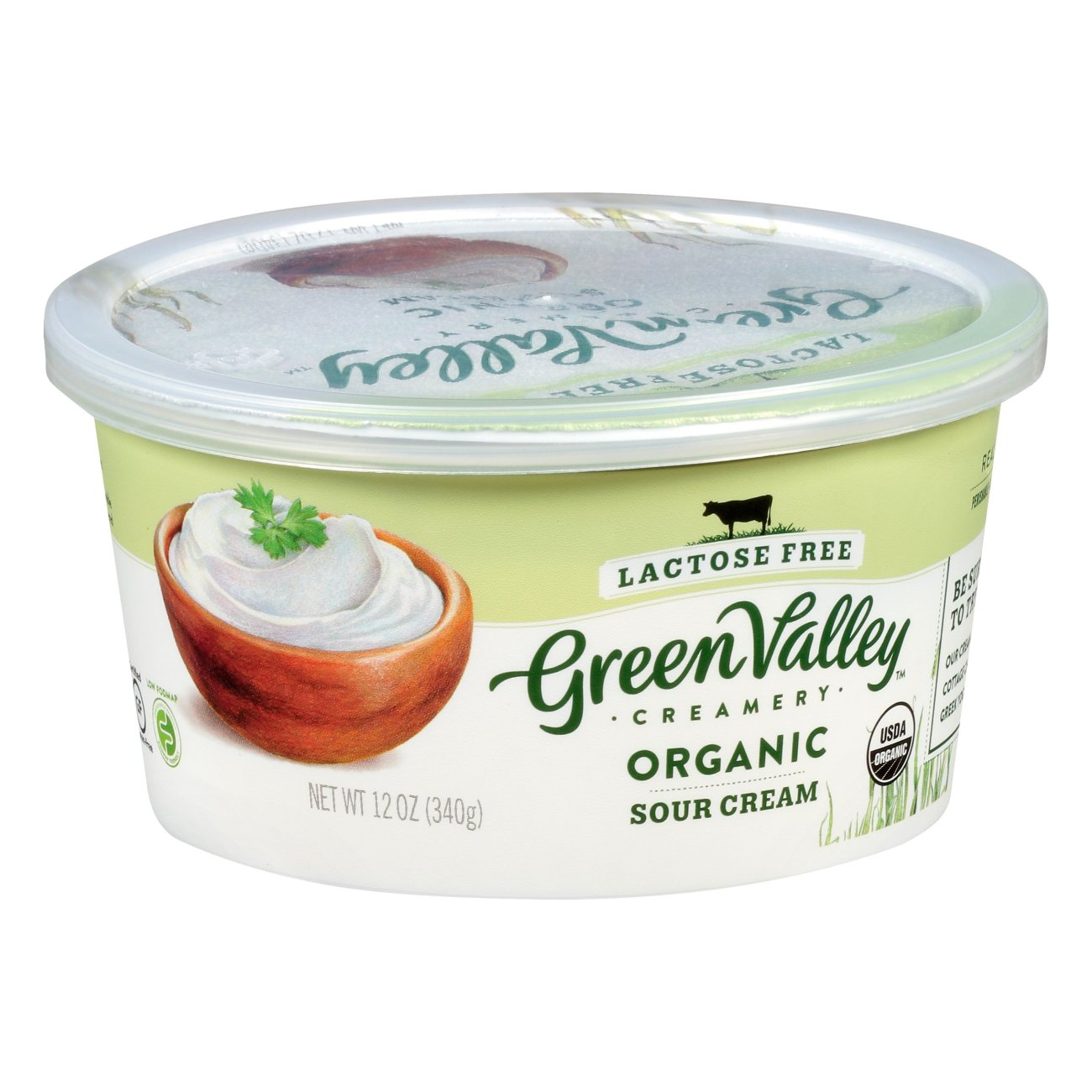 Green Valley Creamery Organic Sour Cream Shop Sour Cream At H E B